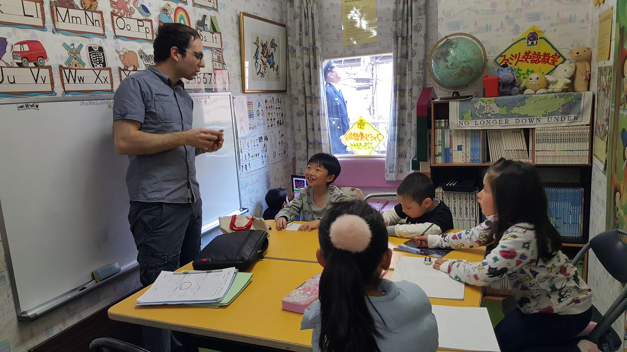 ネイティブ講師英会話クラス