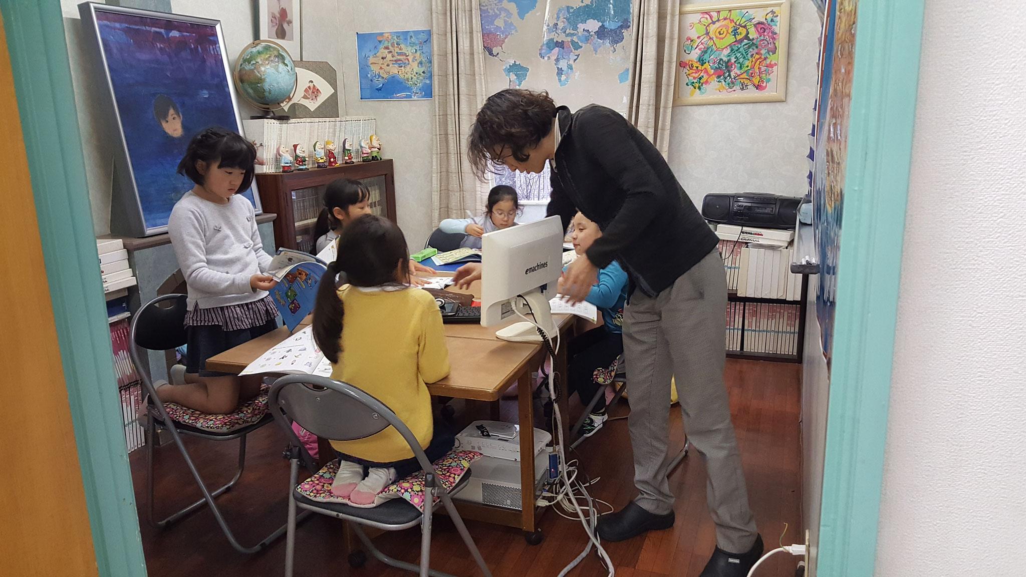 小学生英文法クラス