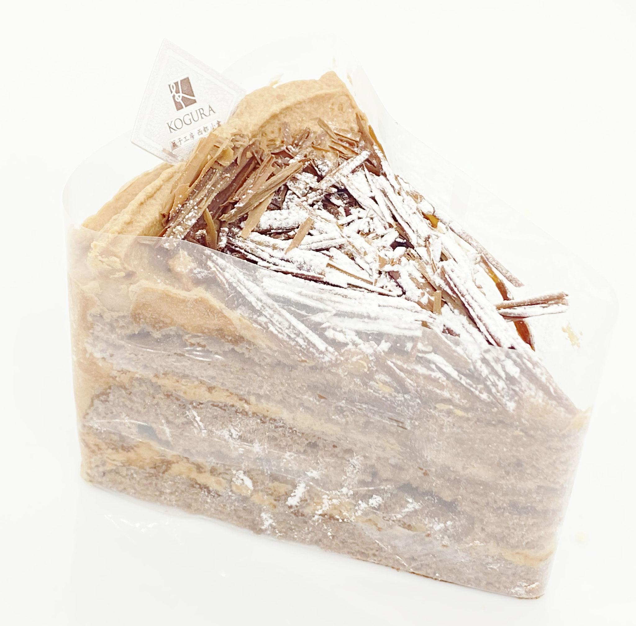 チョコレートケーキ 453円