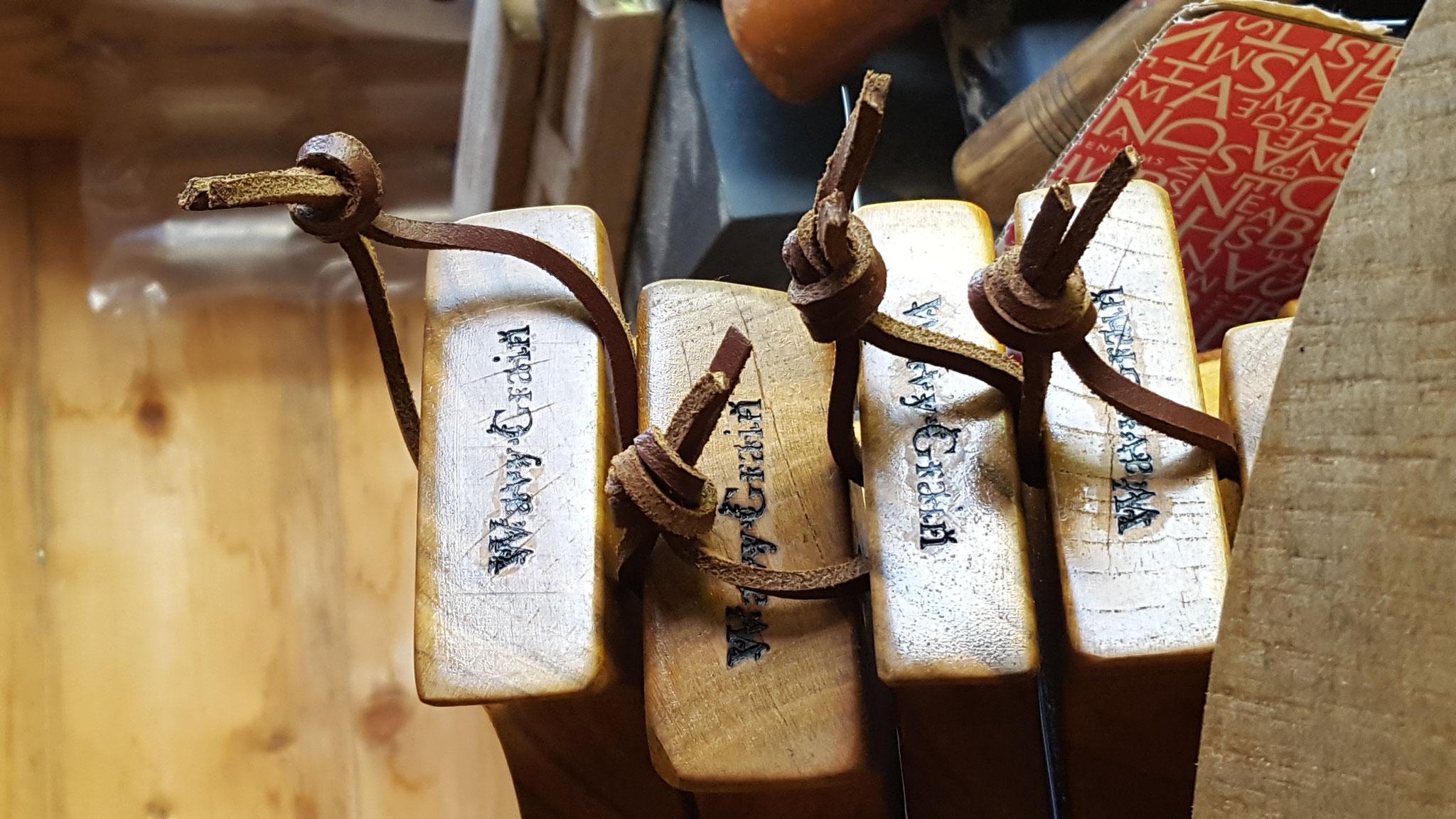 WavyGrain branded handmade