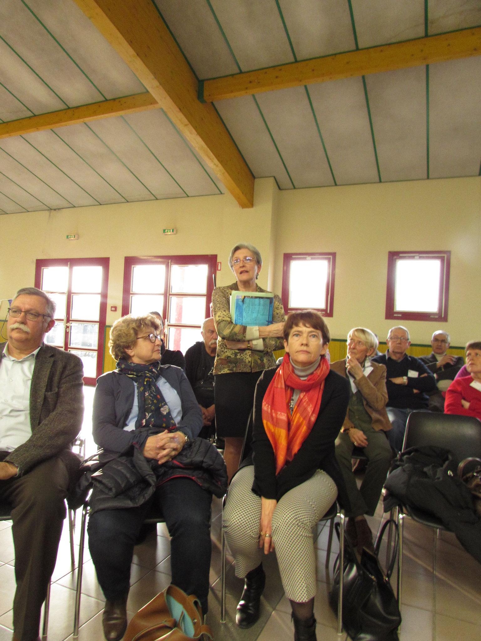 Laurence Valay et Sylvie de Lamarlière, conseillères municipales de Marmande