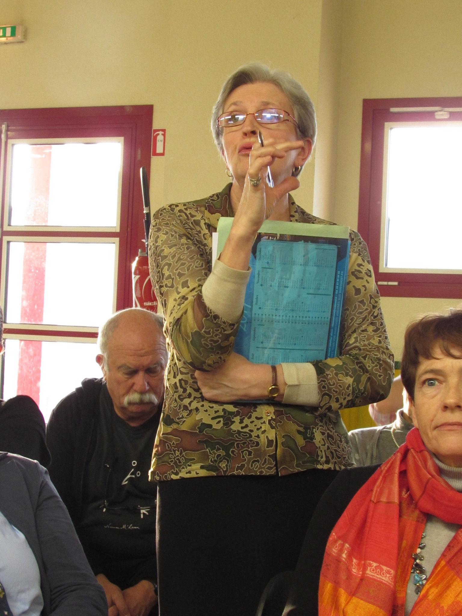 Odette Fraiche, référente francophonie