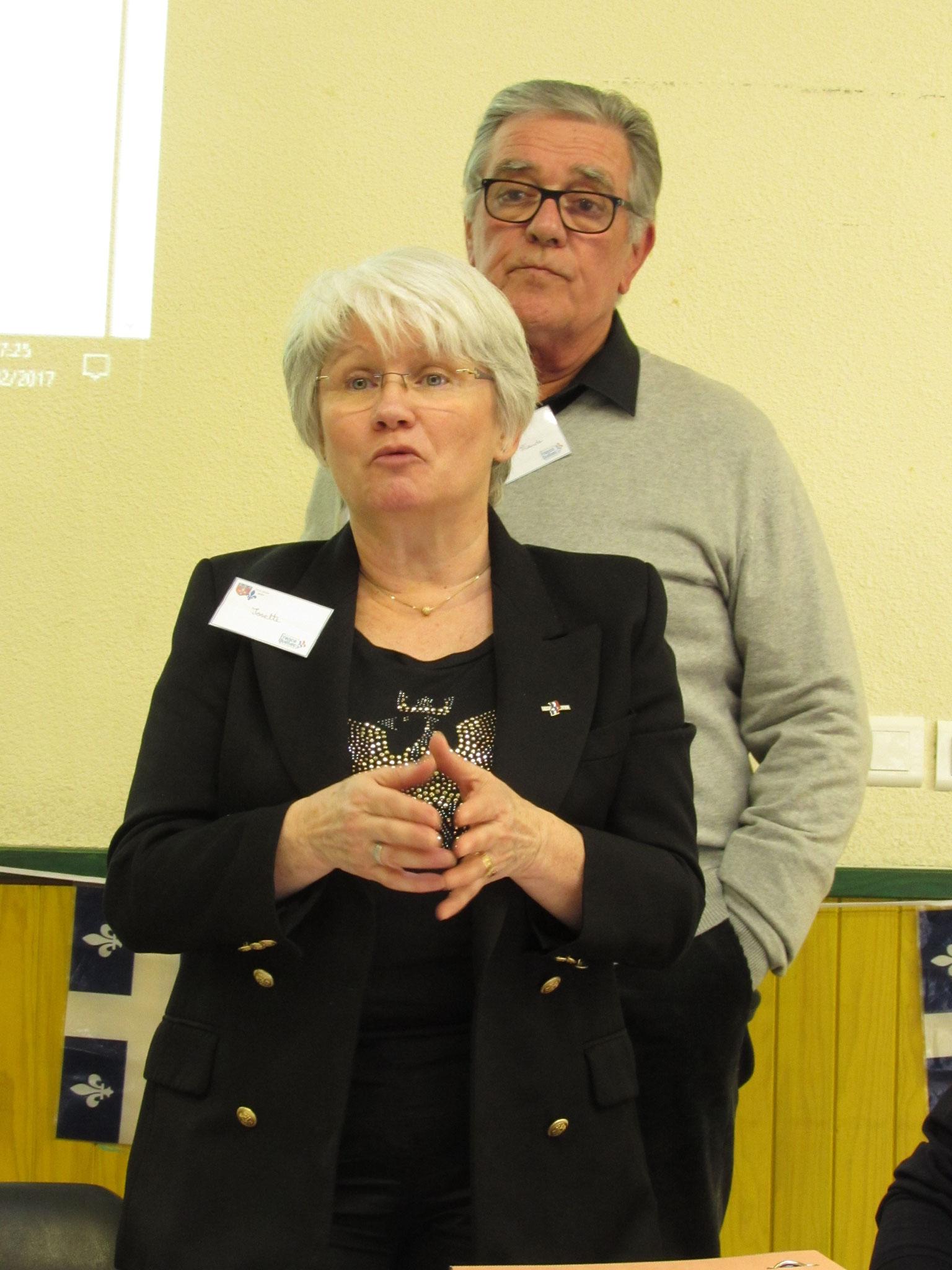 Josette Courdesses, Co-présidente