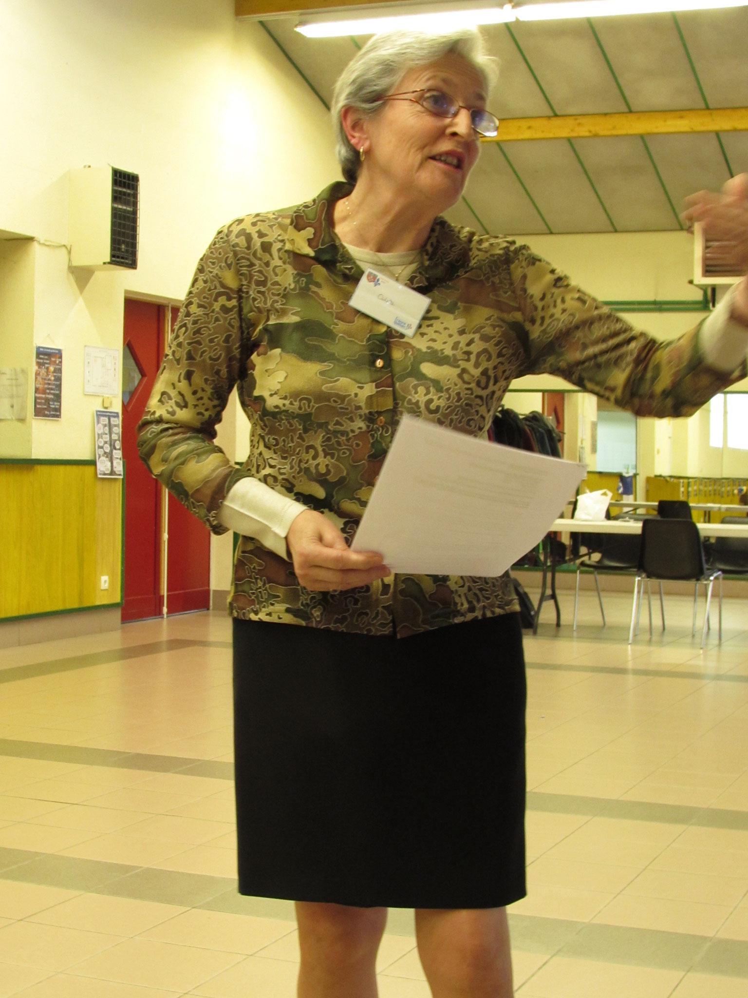 Odette Fraiche, référente franco^honie