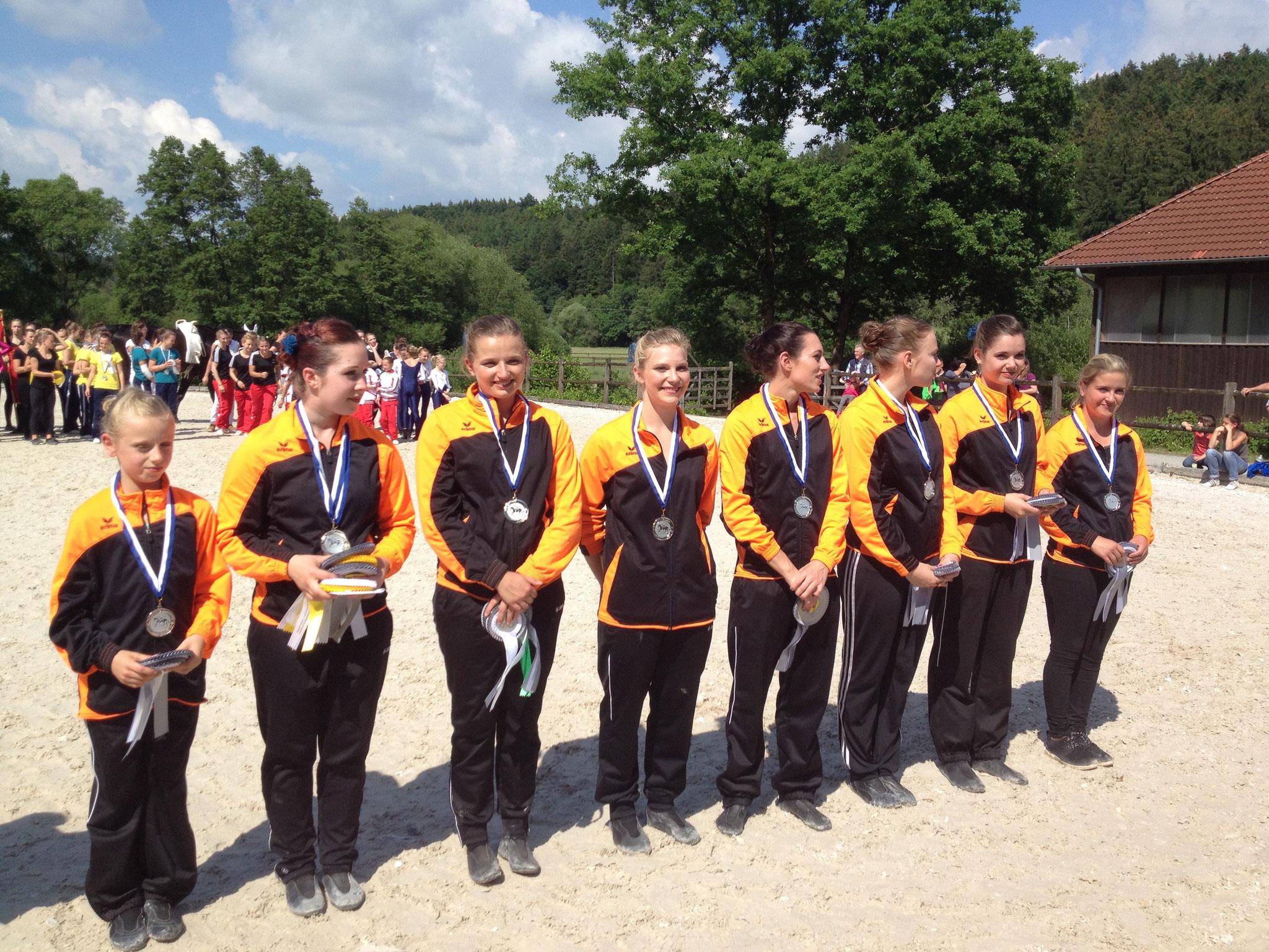 Auch das Juniorteam siegte.