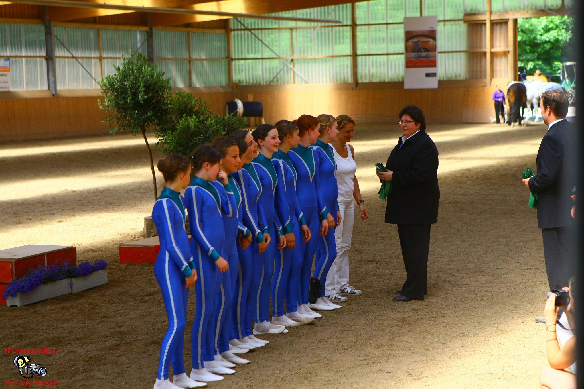 Siegerehrung bei der Fränkische Meisterschaft Coburg 2010 (foto Andreas Beck)