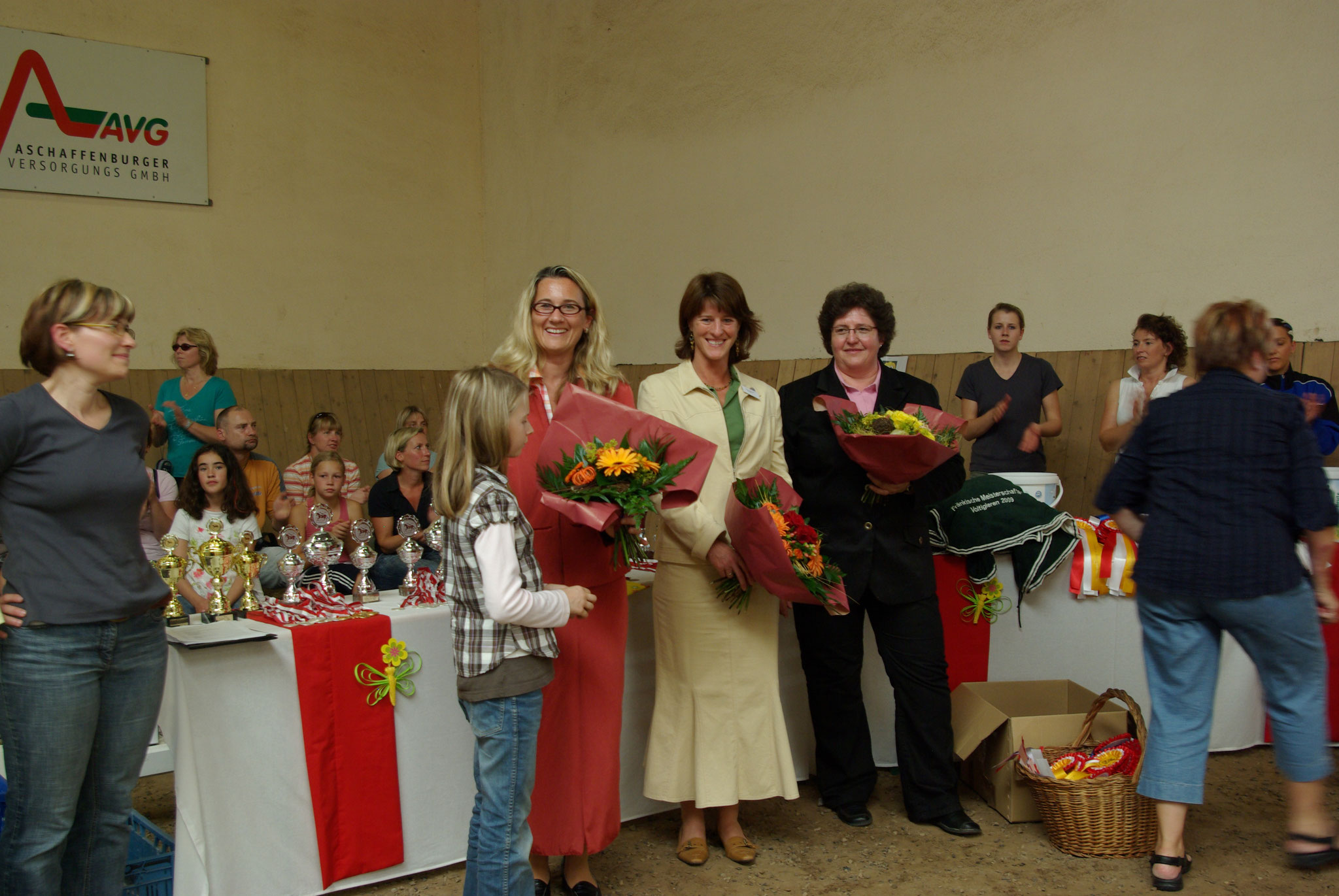Richterteam auf der Fränkischen Meisterschaft 2009 in Aschaffenburg