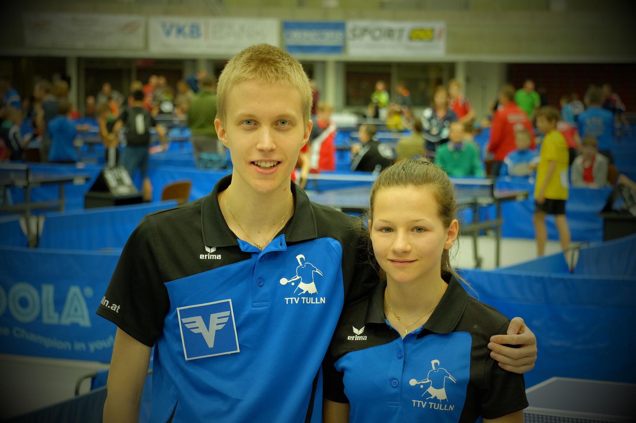 Nachwuchstrainer Andi Hammerschmid mit Clara Miller
