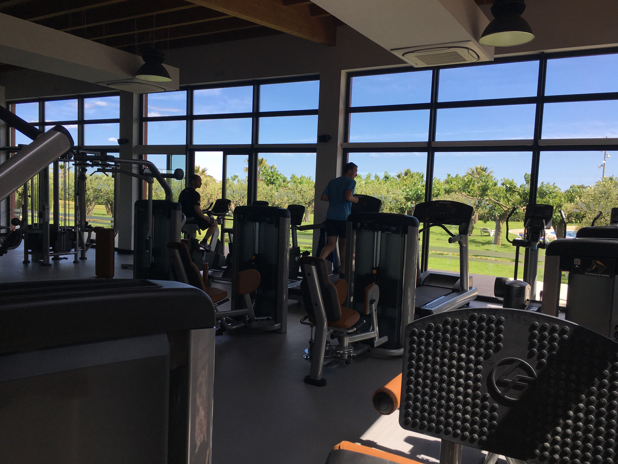 Fitnessraum (kostenpflichtig)