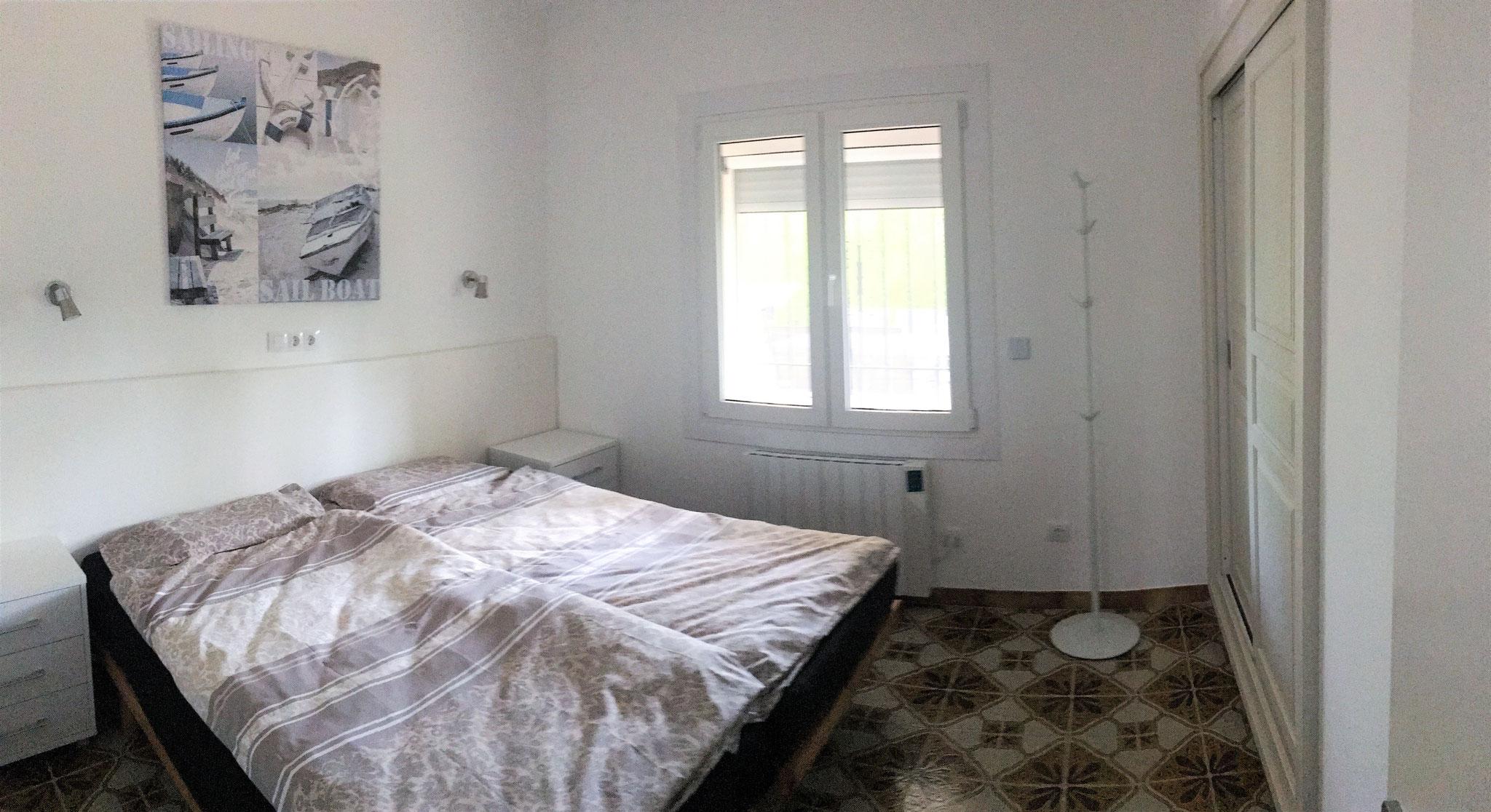 3 Schlafzimmer mit je 2 Betten