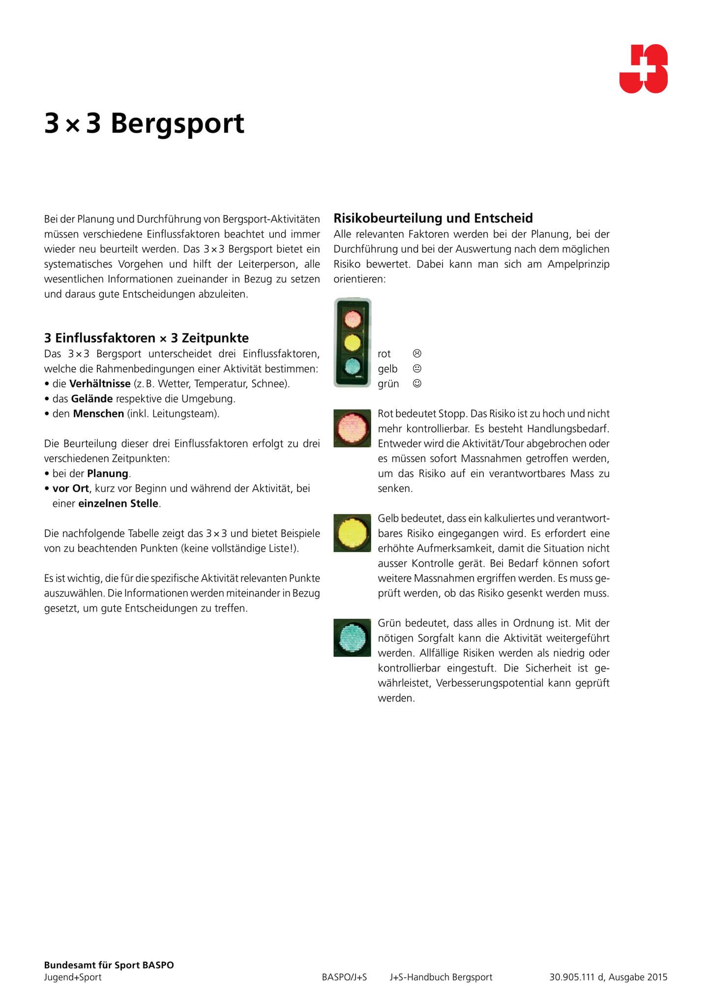 TIPPS & TRICKS - BERGABENTEUER