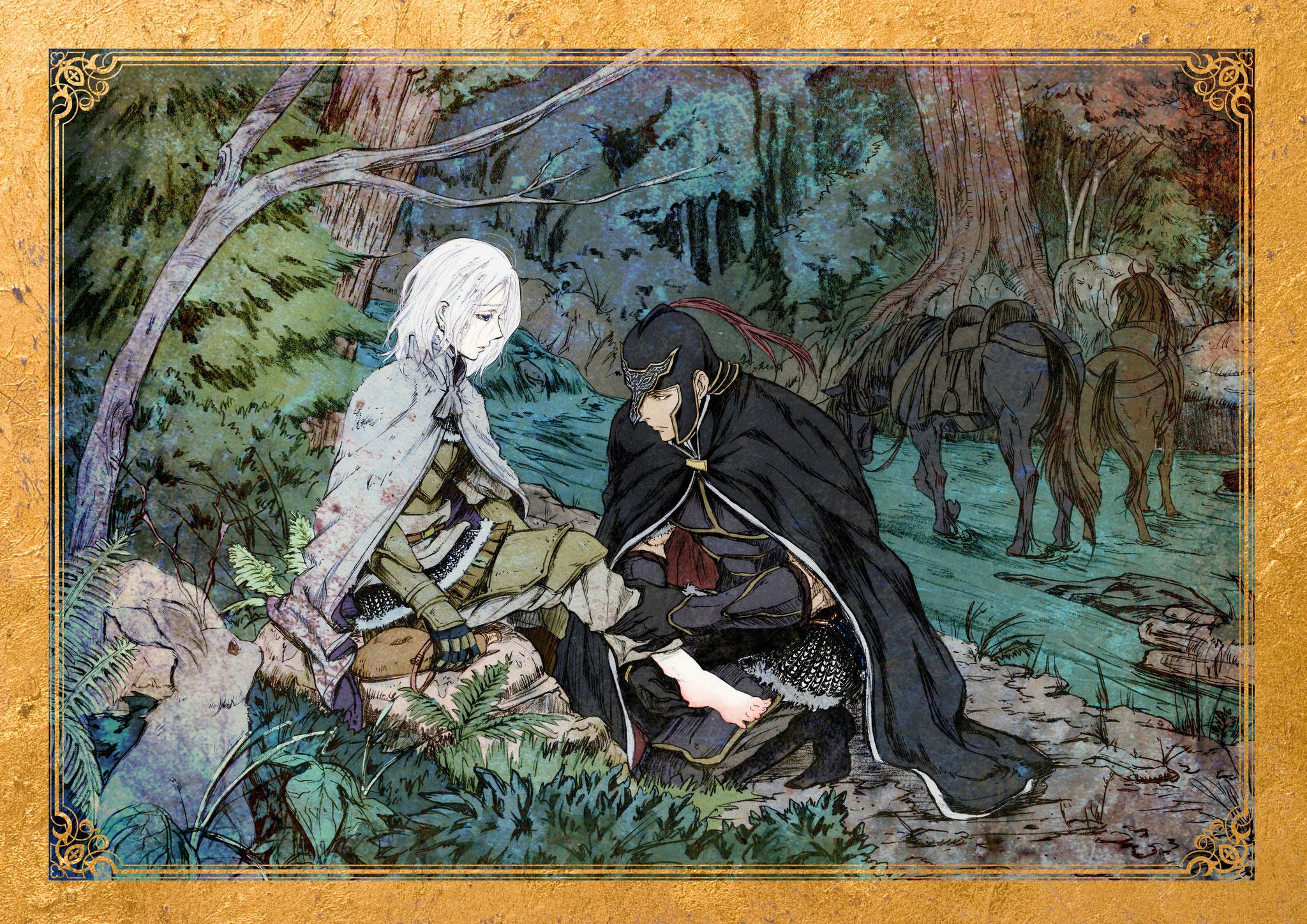 TVアニメ『アルスラーン戦記 風塵乱舞』ミニ朗読劇 イラスト