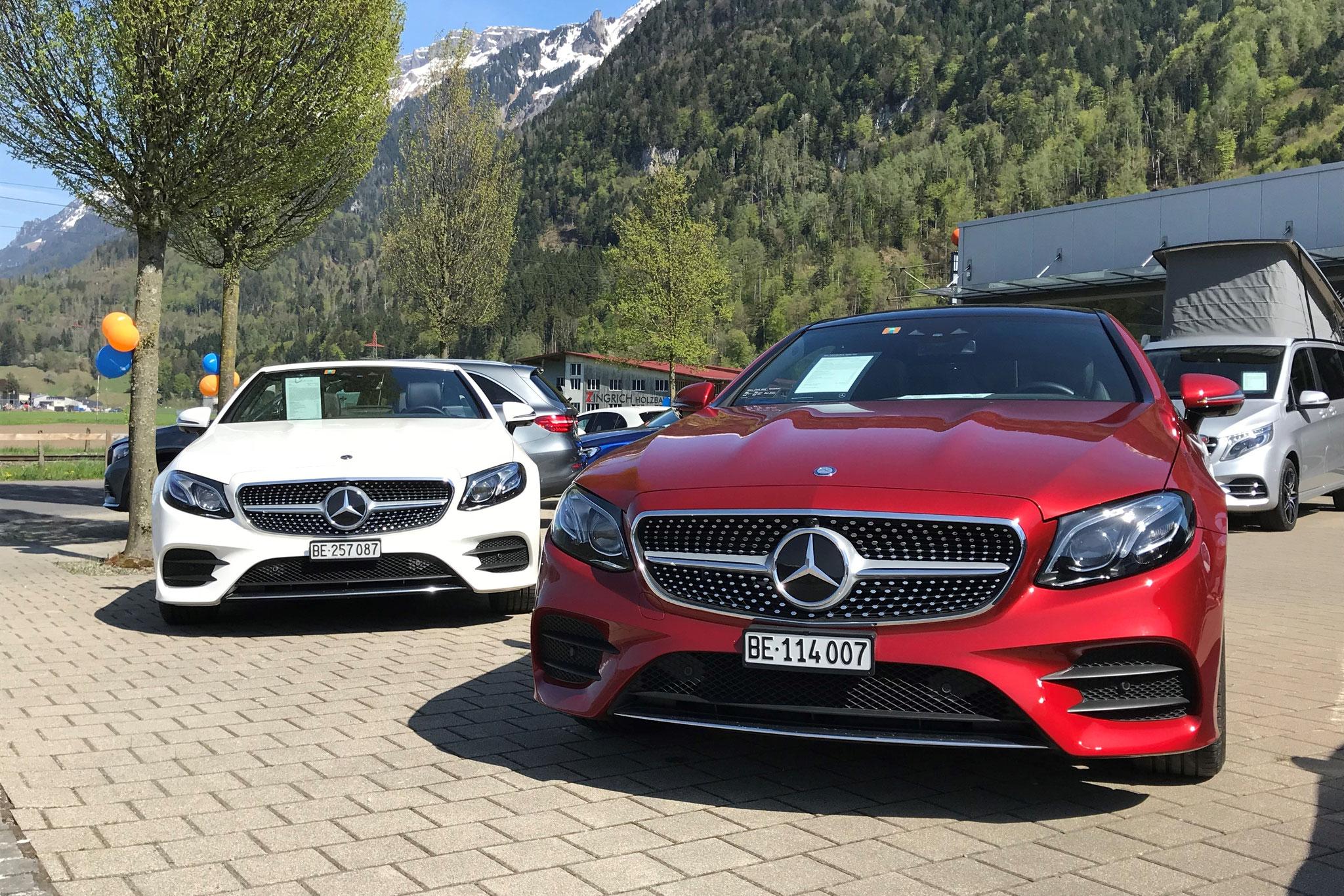 Mercedes-Benz E Cabriolet und E Coupé