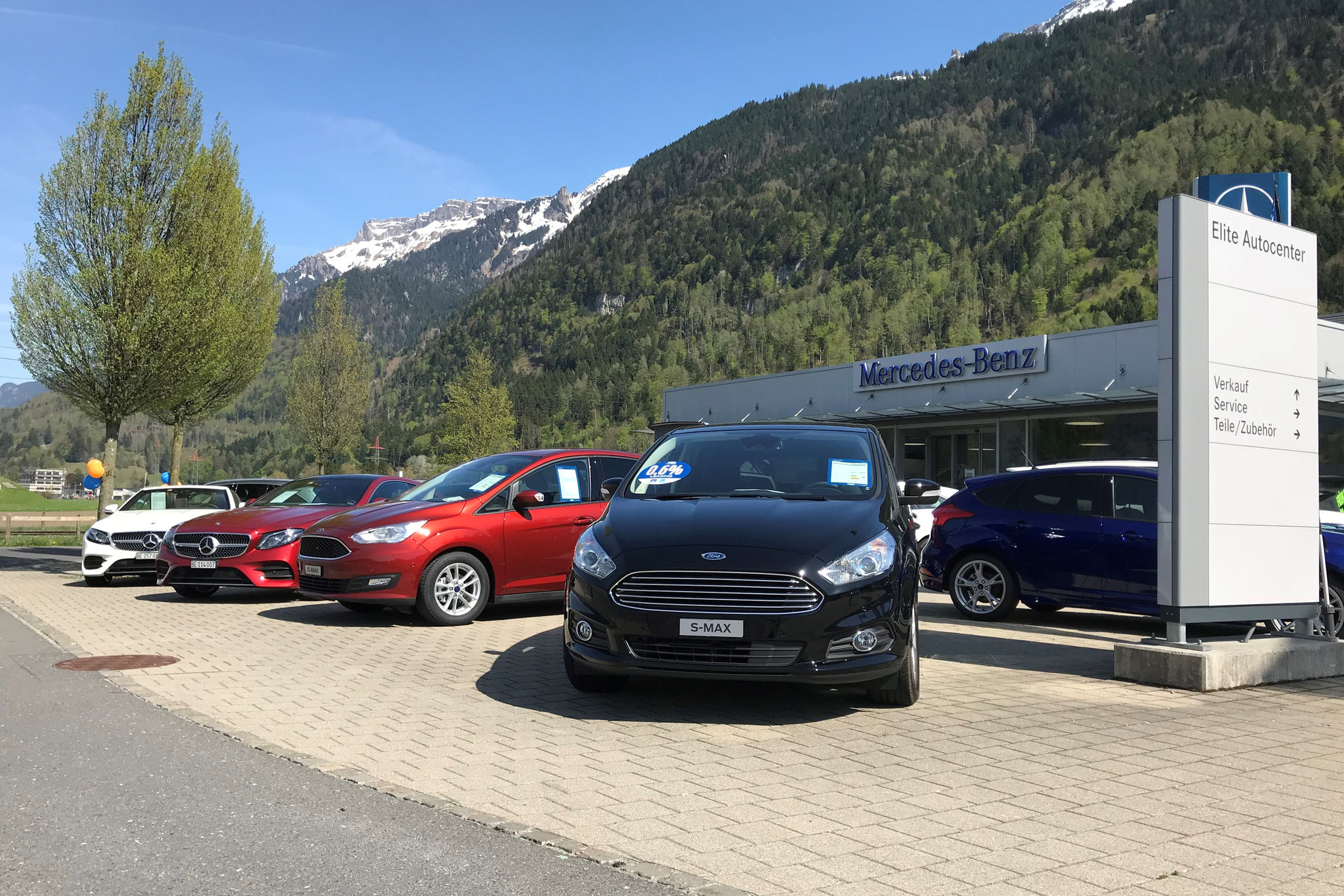 Ford C-MAX und S-MAX