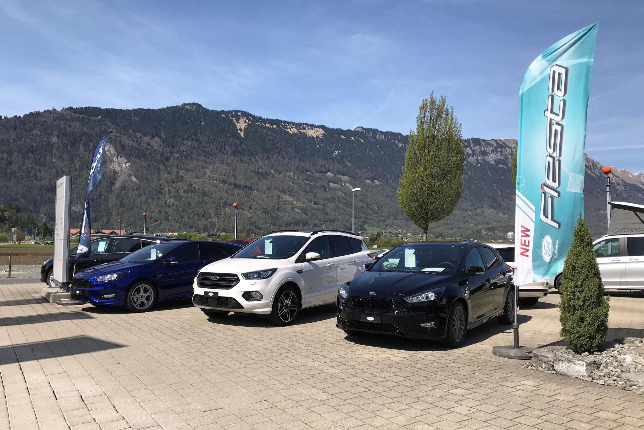 Ford Focus, Kuga und Focus