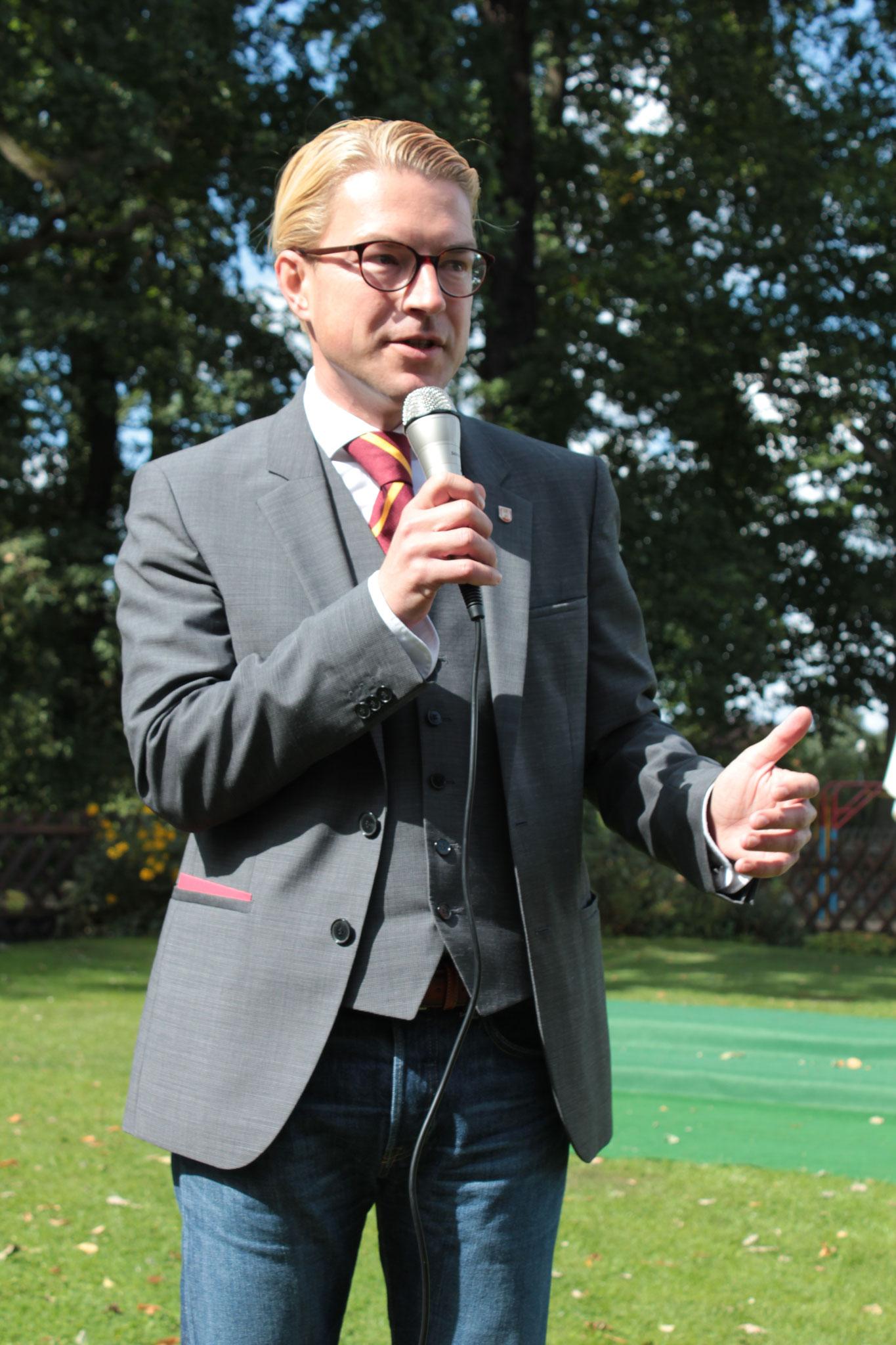 Henning Hofmann - Bezirksbürgermeister Buchholz-Kleefeld