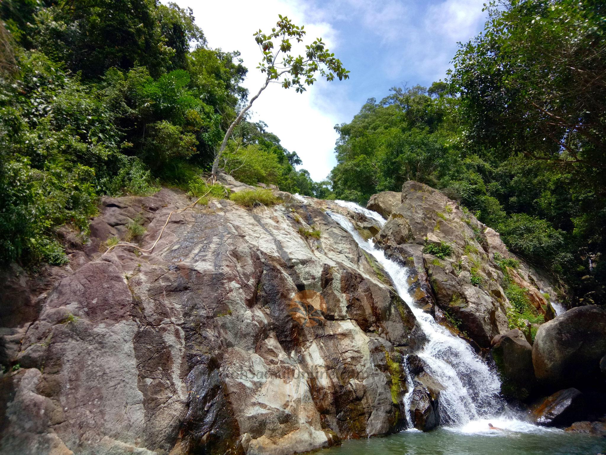 Koh Samui Sehenswürdigkeit Hin Lat Wasserfall
