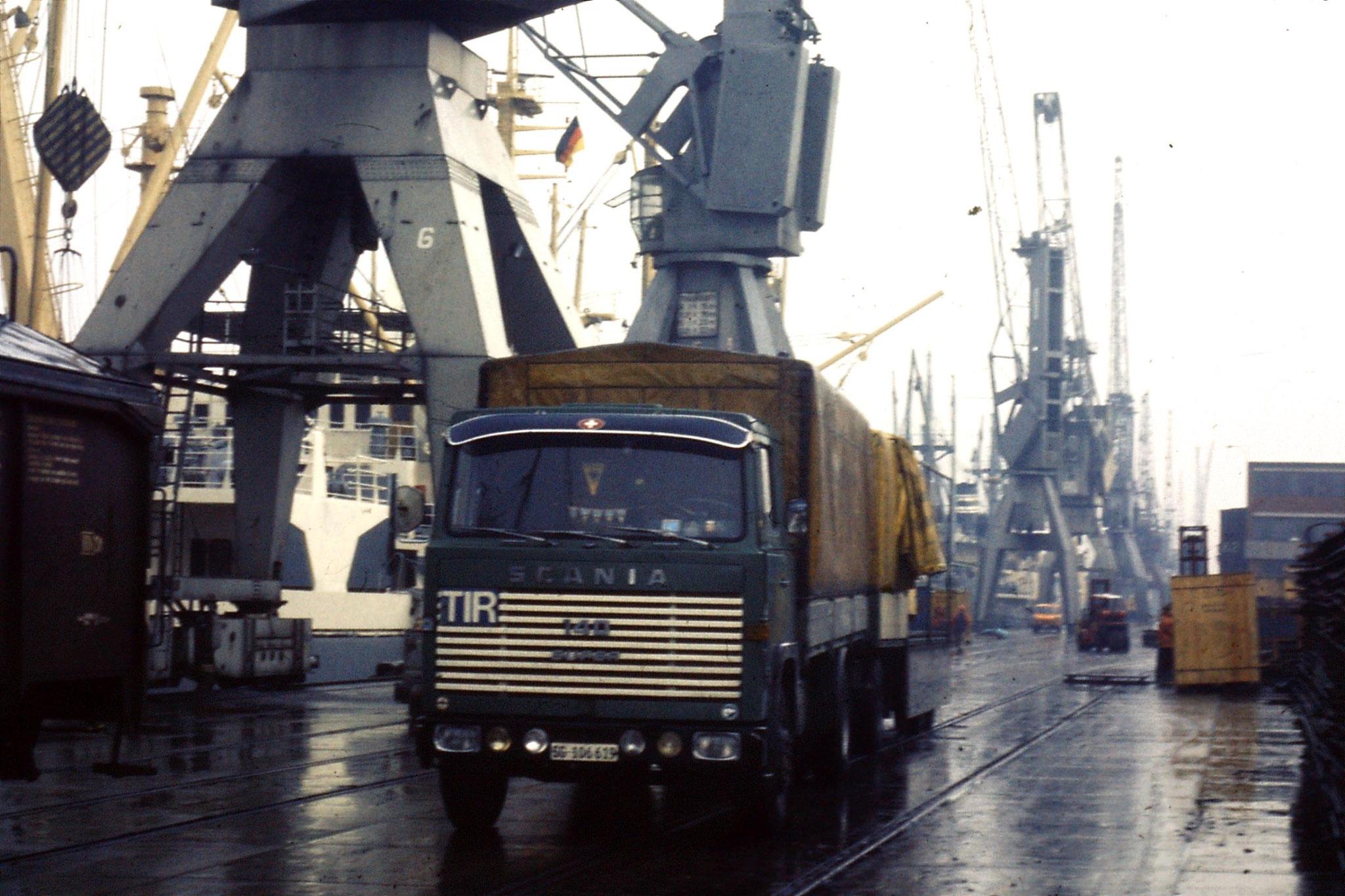 Hafen Hamburg in der 70ern