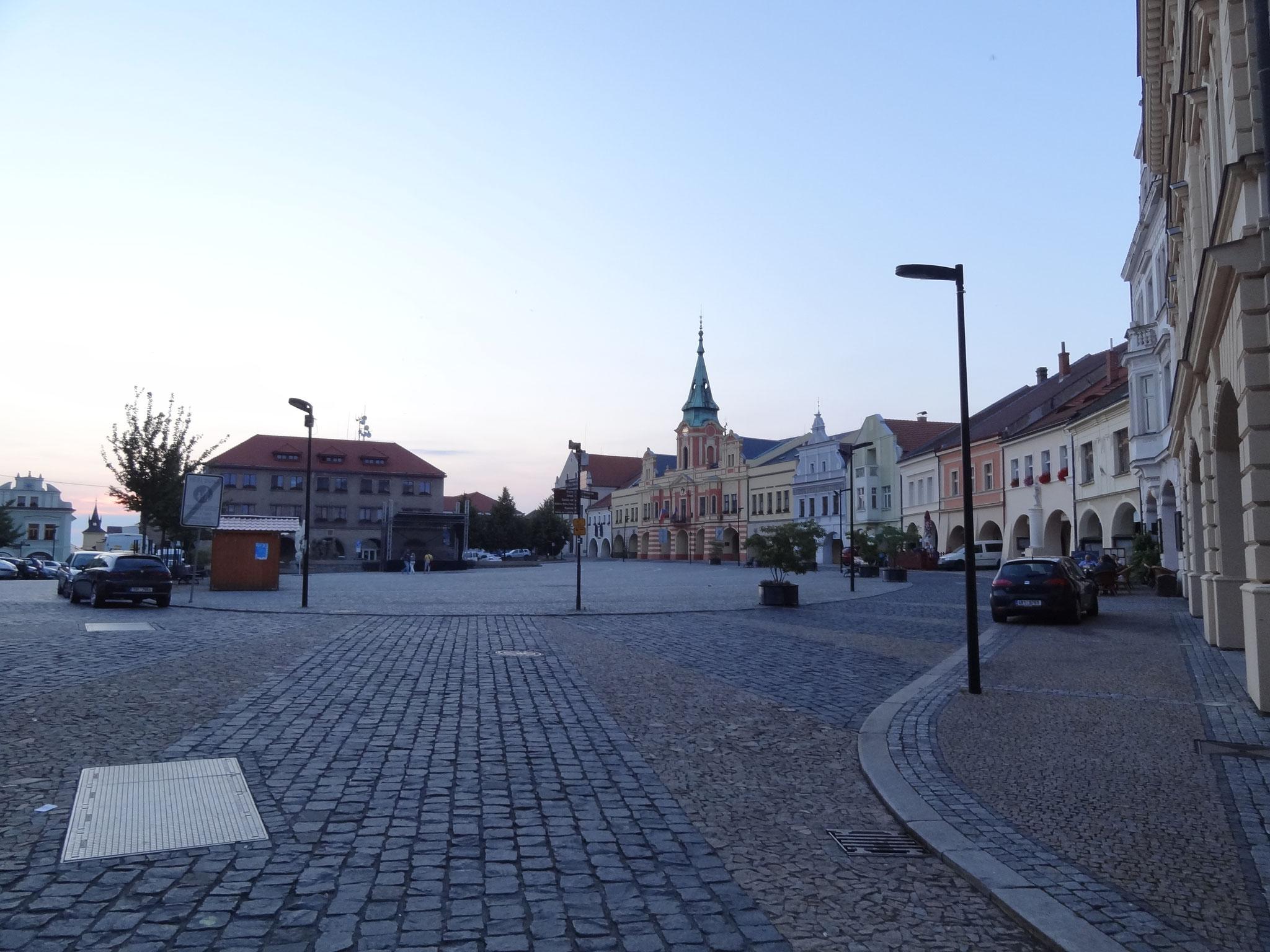 Stadtplatz von Melnik