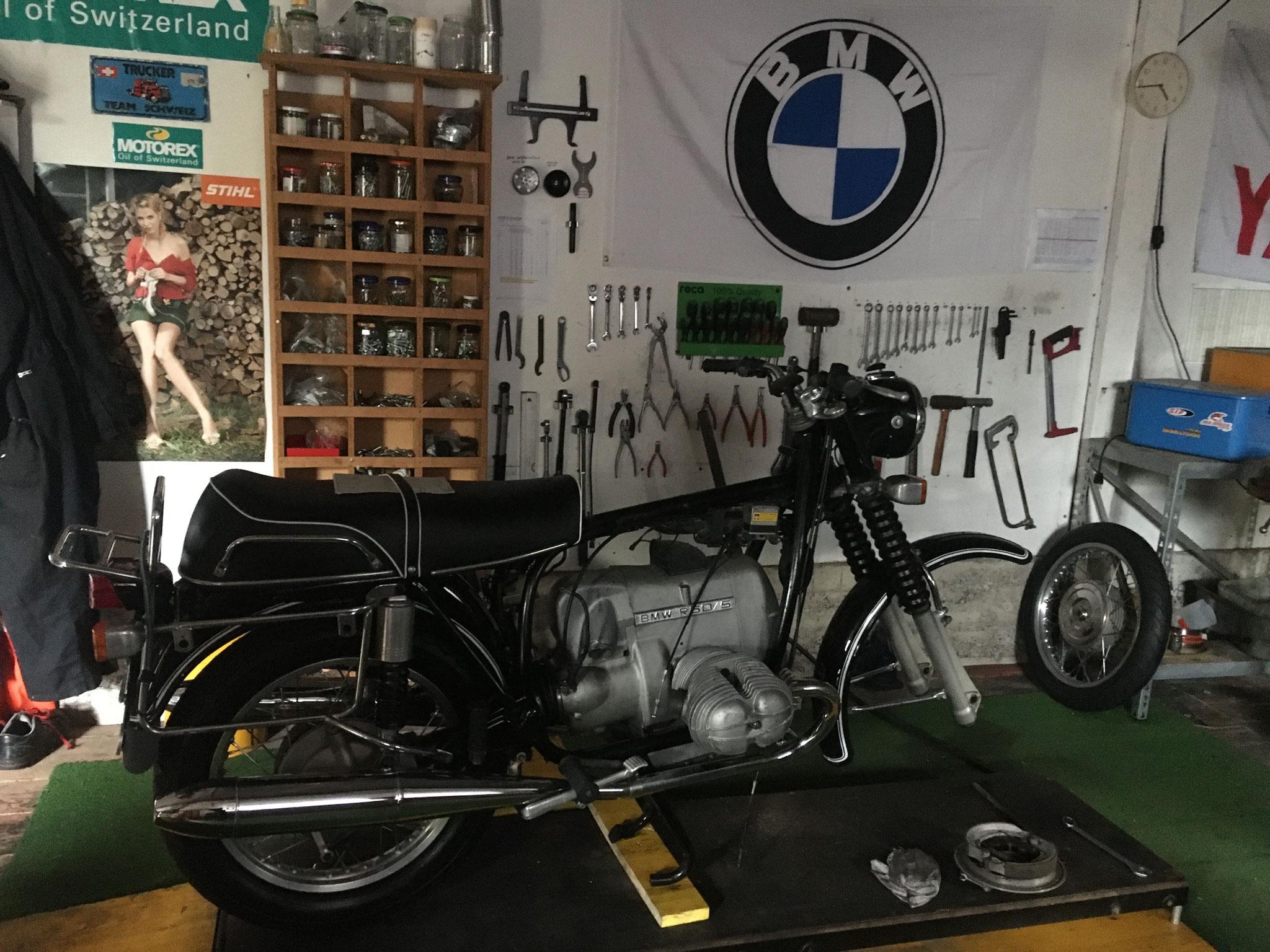Neues Projekt  Bmw R 60/5 Jg.1969 von Kurt