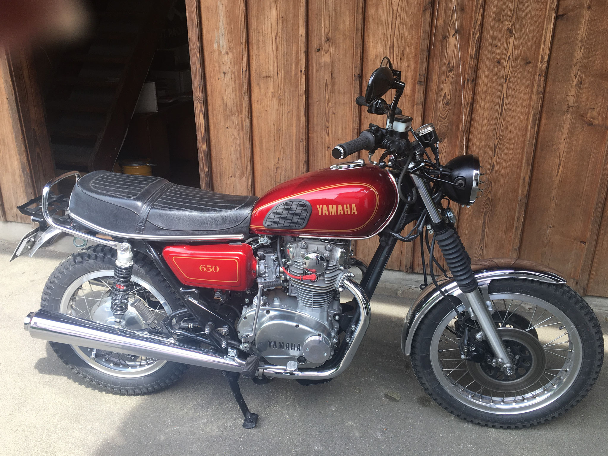 Yamaha XS 650 von Kurt (wäre zu haben)