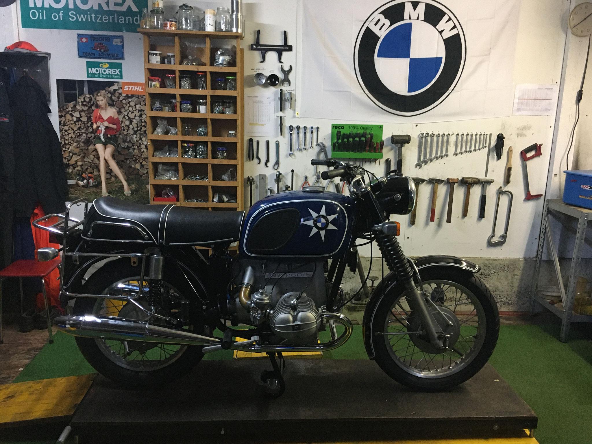 BMW R60/5 mit 750ccm Motor von Kurt
