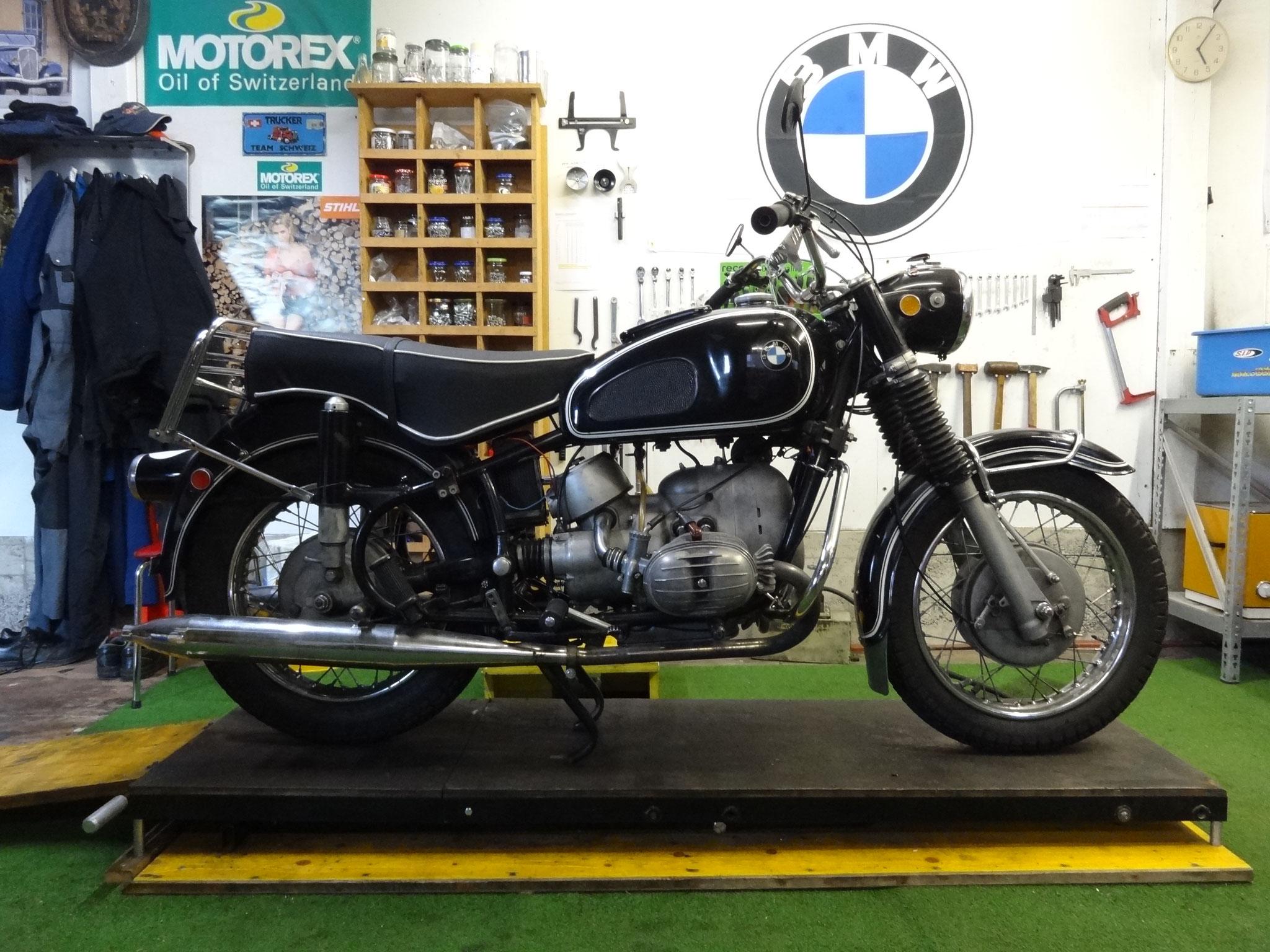 Service und diverse Reparaturen an einer BMW R 60/2