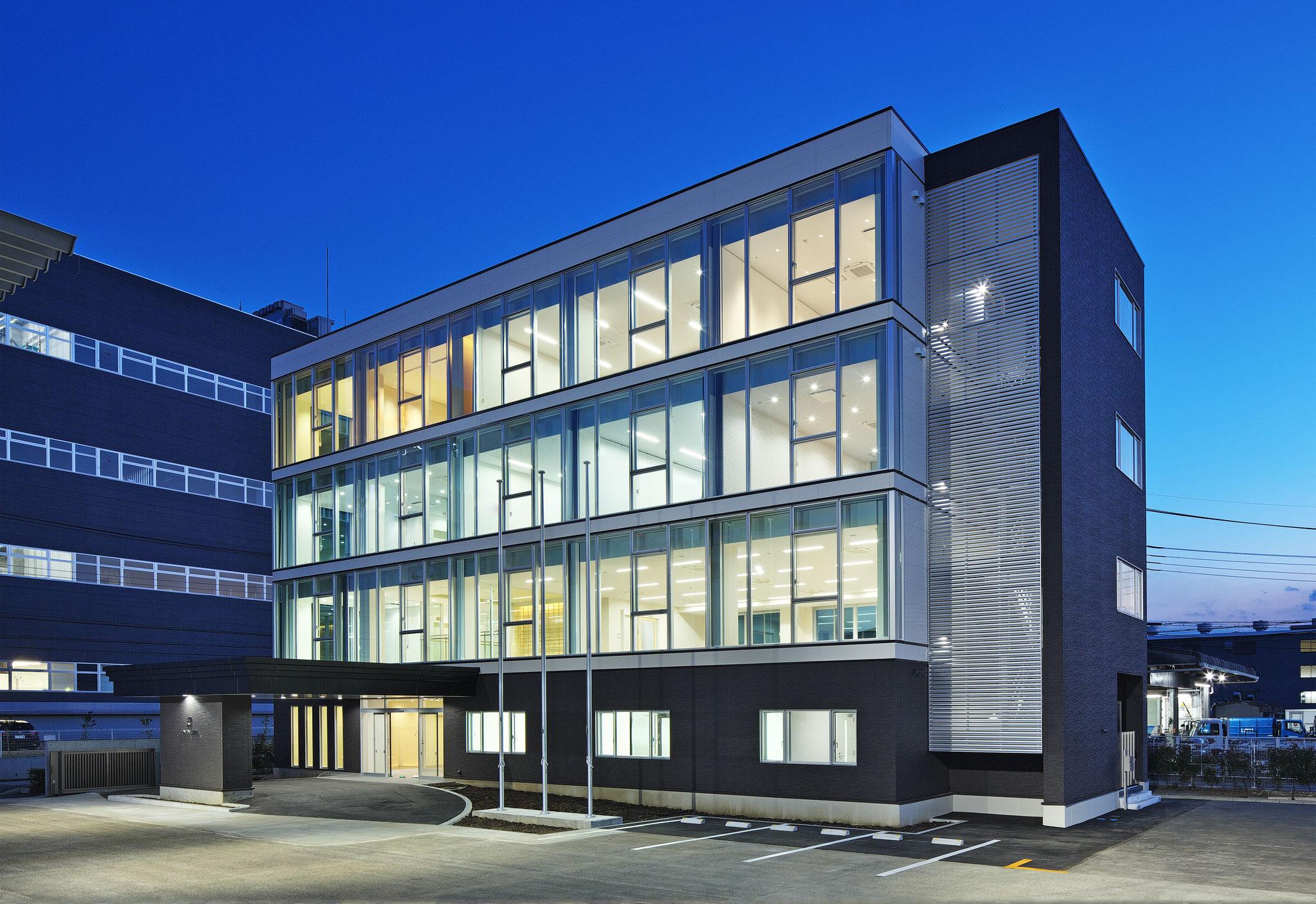 JOHNAN  STEEL  co.,ltd  BUILDING