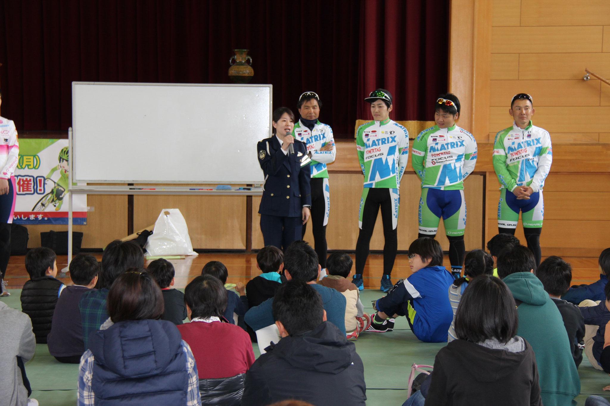 京都府木津警察署 自転車安全教室