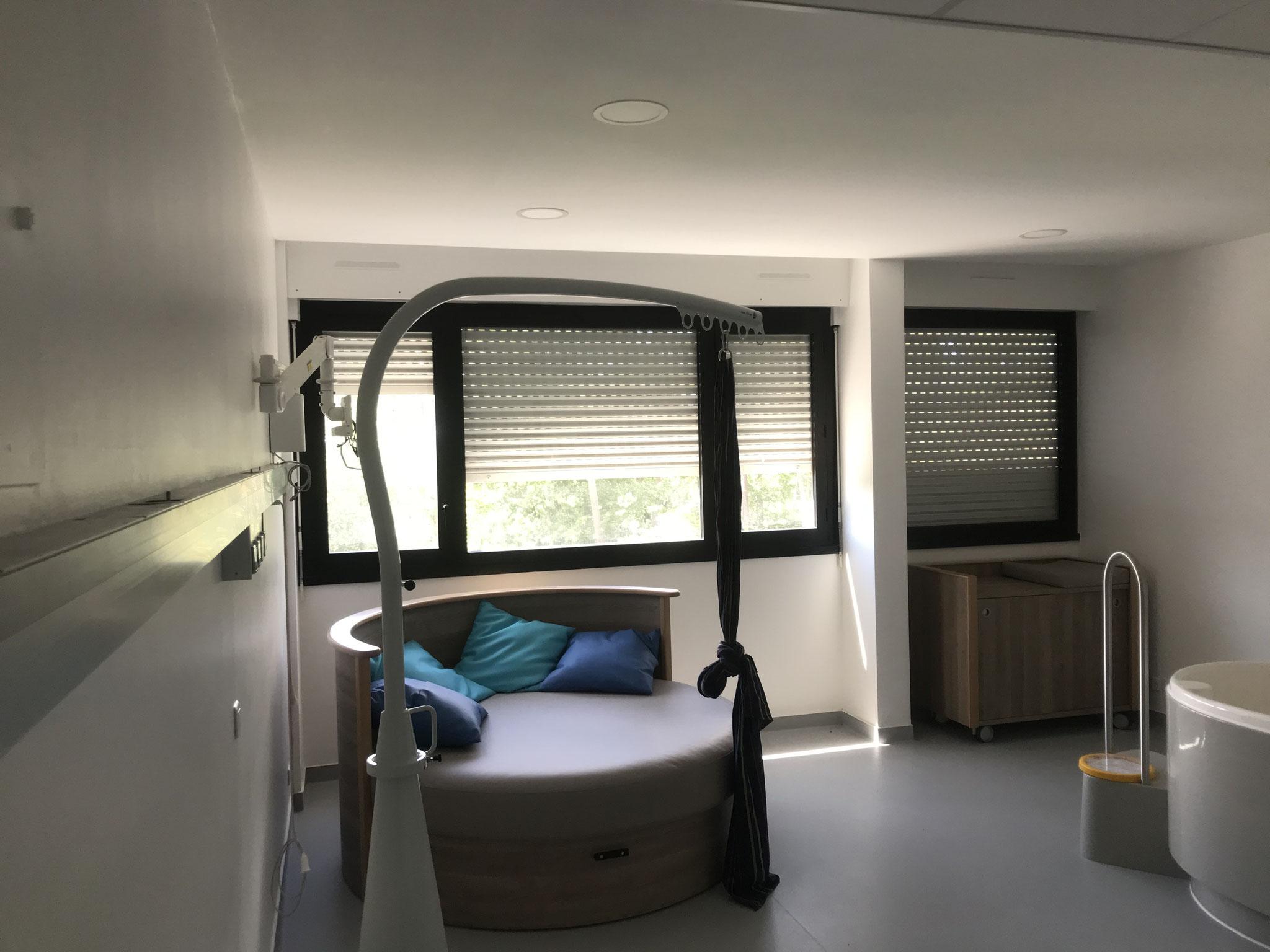 Dubosc platrerie retombée cloison et plafond démontable clinique / milieu hospitalier
