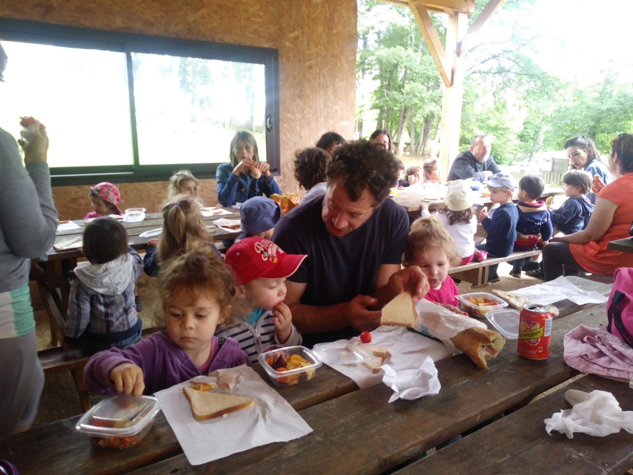 Sortie de fin d'année au Thot avec le multi accueil et la crèche familiale