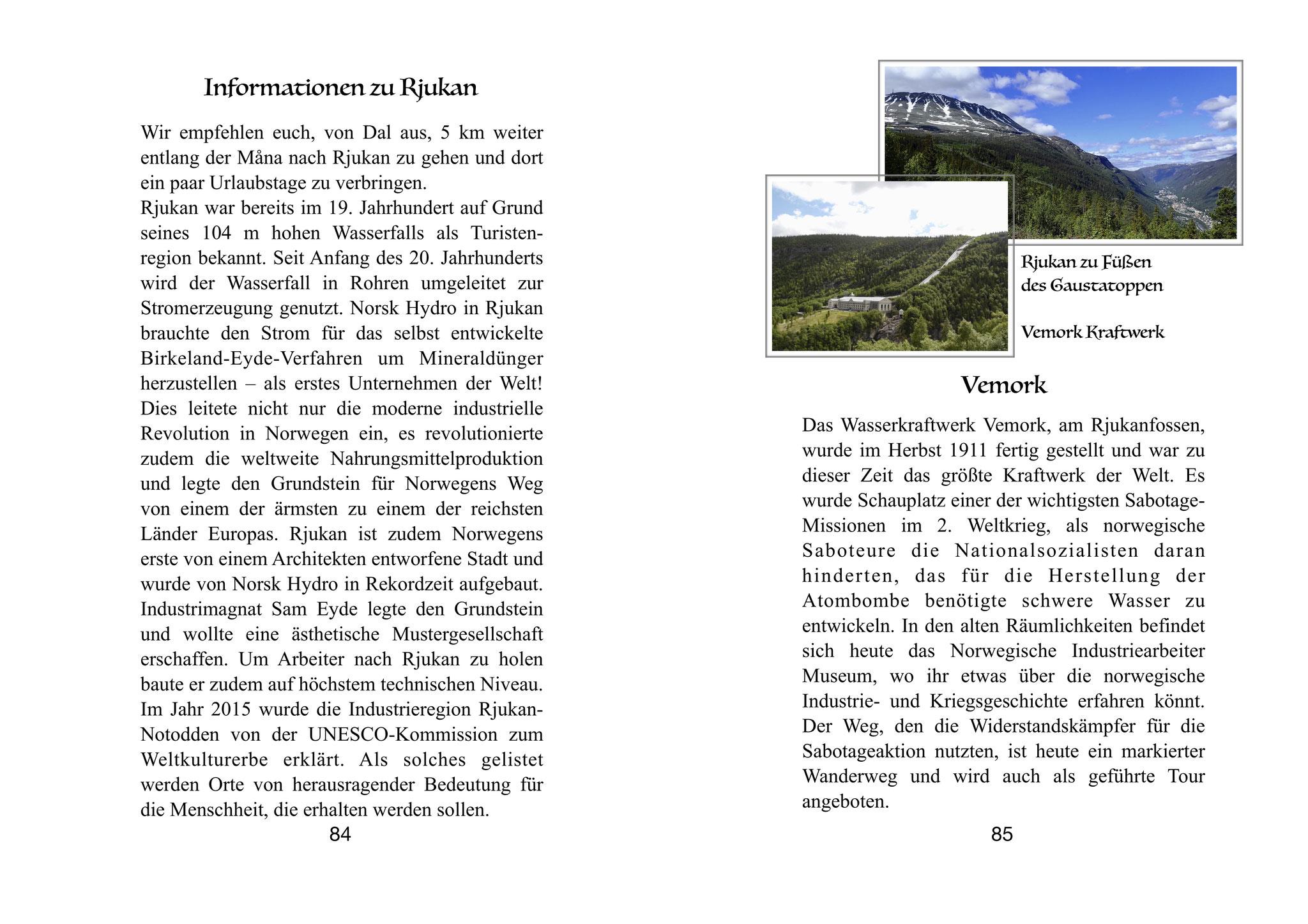"""Pilgerführer """"Die weißen Kirchen am Tinnsjø"""" - Rjukan - Weltindustrierbe"""
