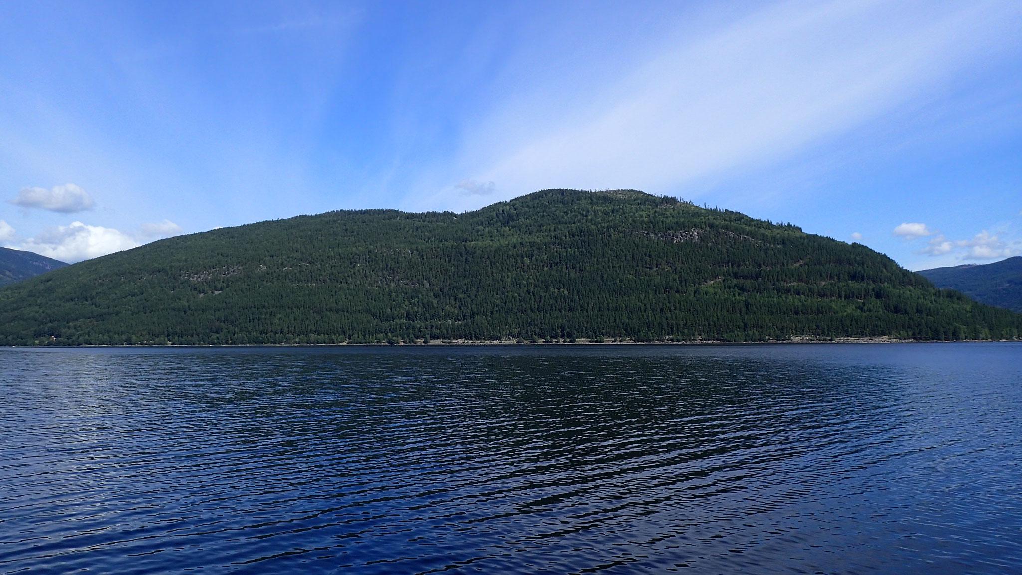 fjellsiden mellom Austbygde og Atrå
