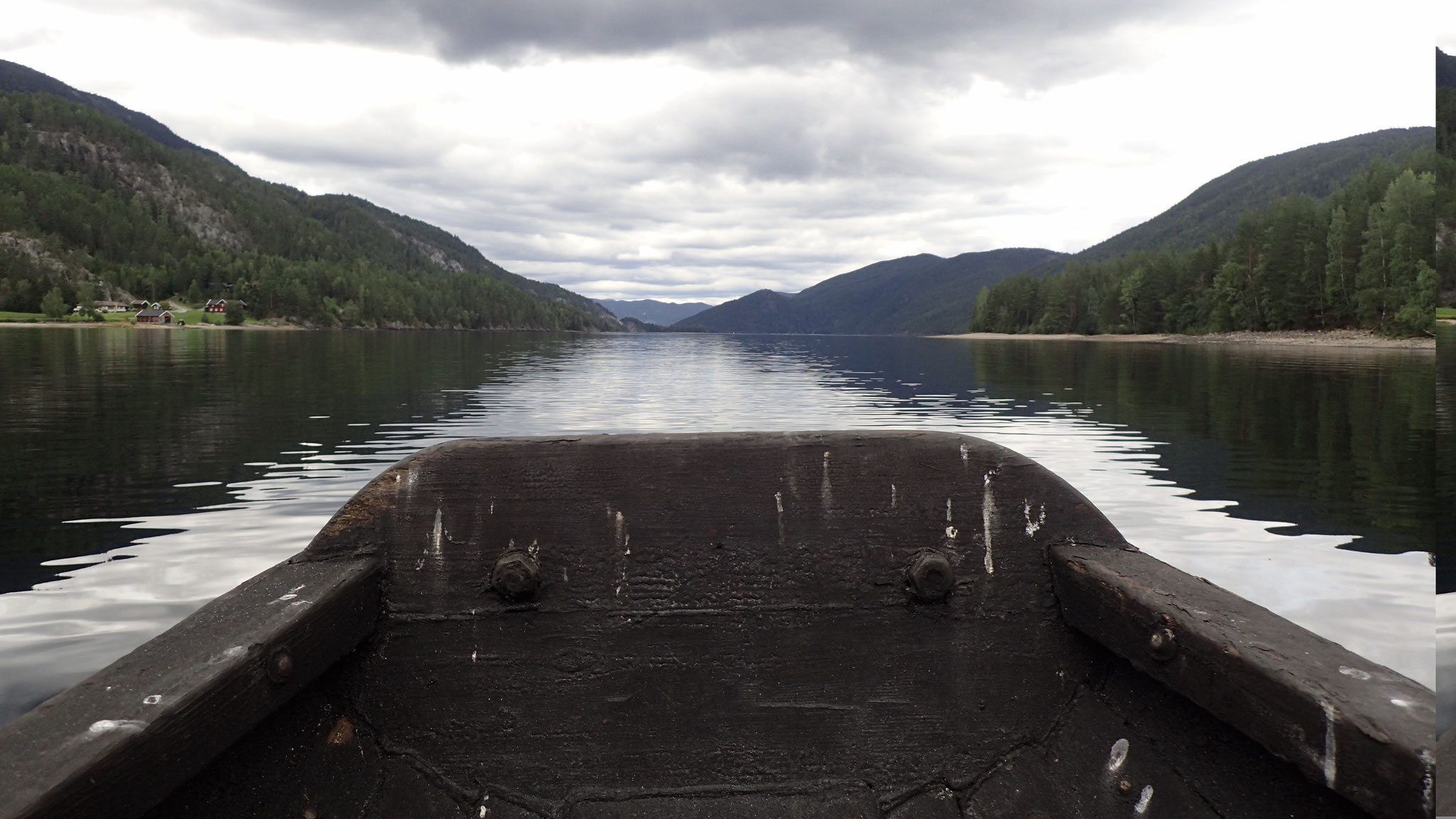 båttur med vakker utsikt