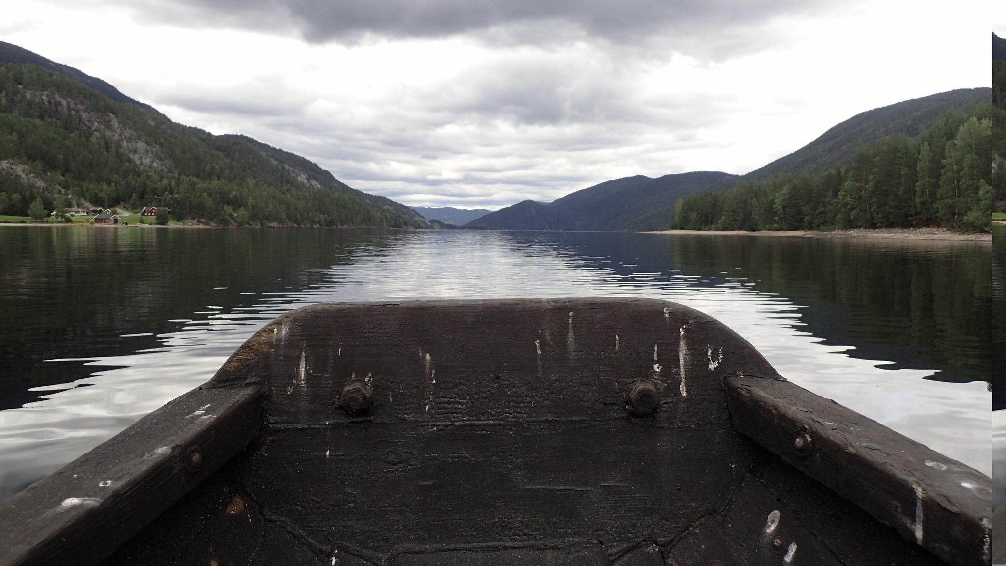 Bootstour mit beeindruckender Aussicht