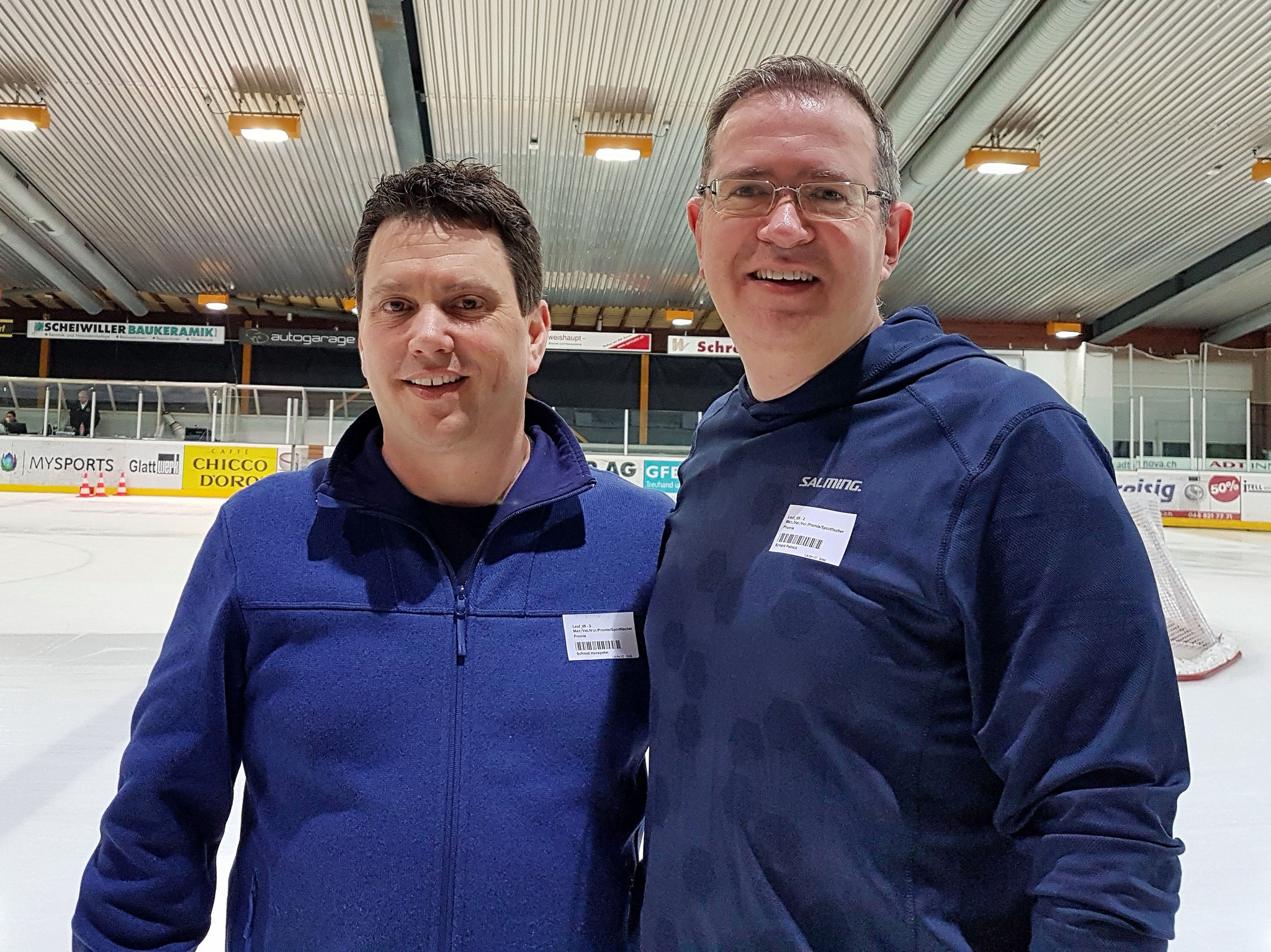 Skateathon 2018 EHC Dübendorf ¦ mit Patrick Schärli, Gemeinderat CVP, Januar 2018