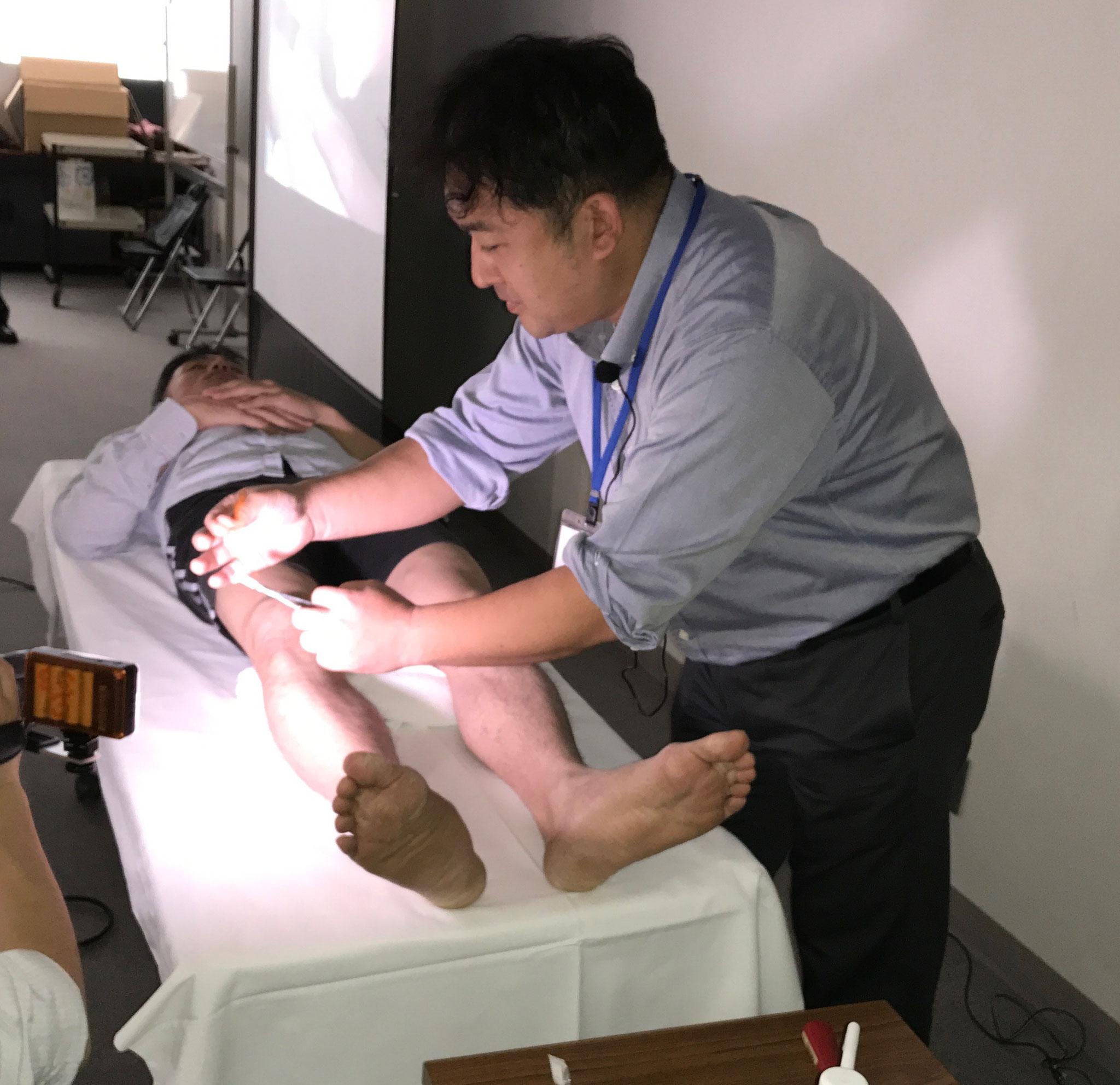中医鍼灸実技1