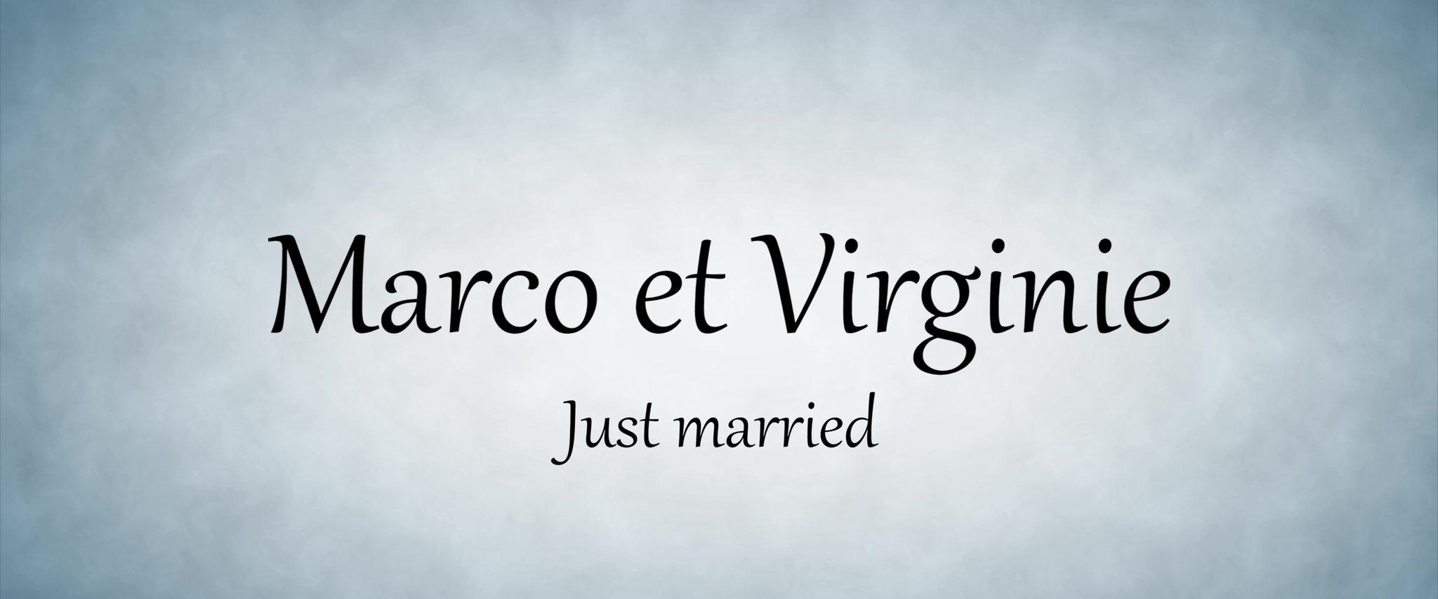 Mariage Marco et Virginie
