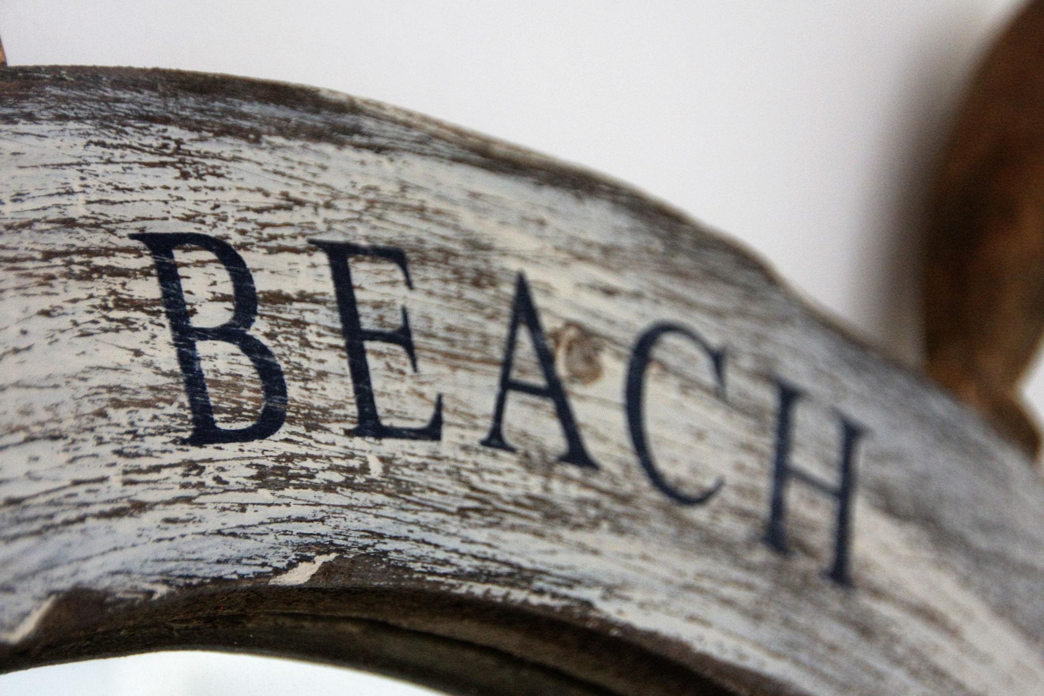 At the beach...