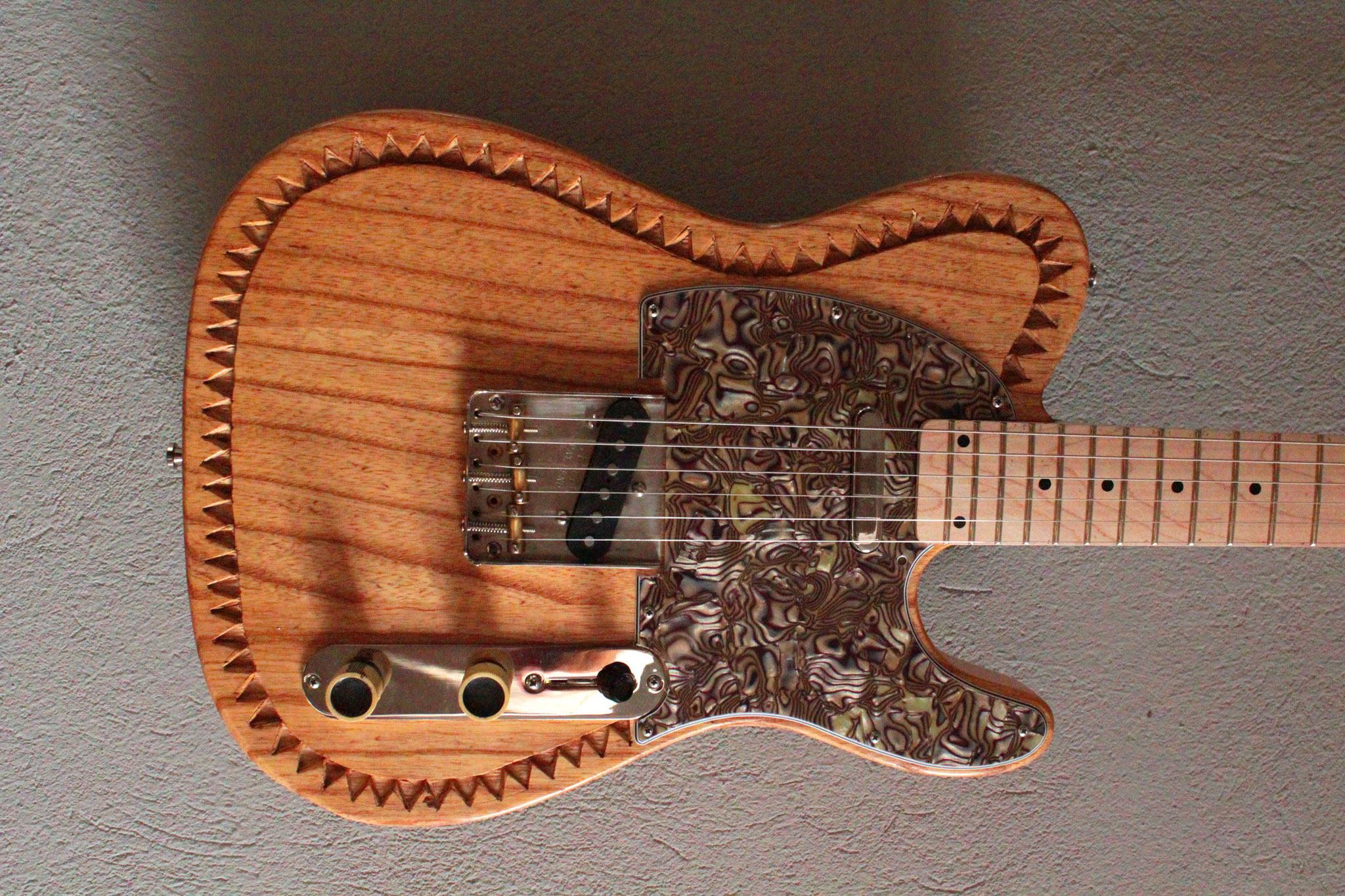 Barncaster carved