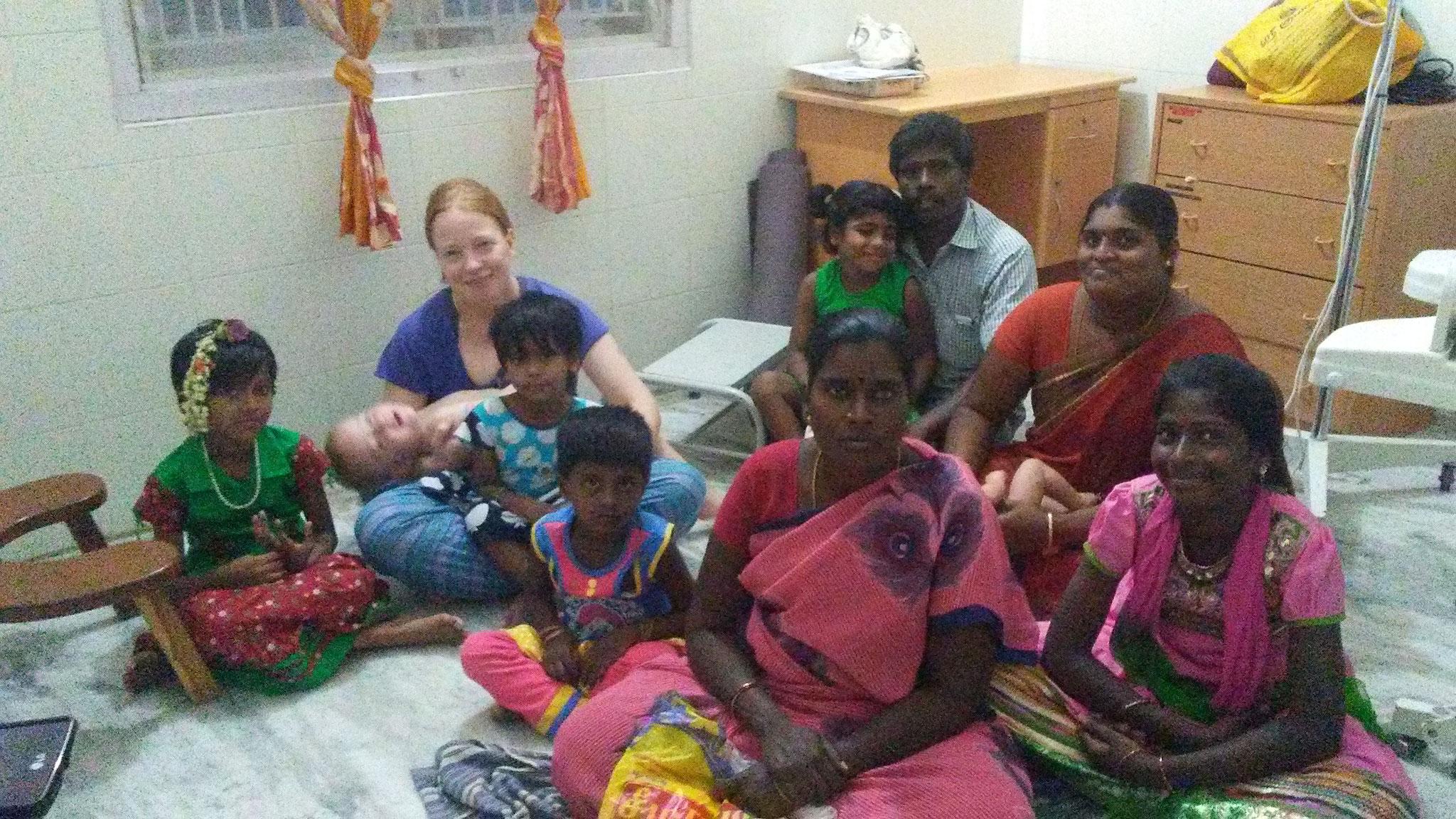 Treffen mit CORD - Patenkinder