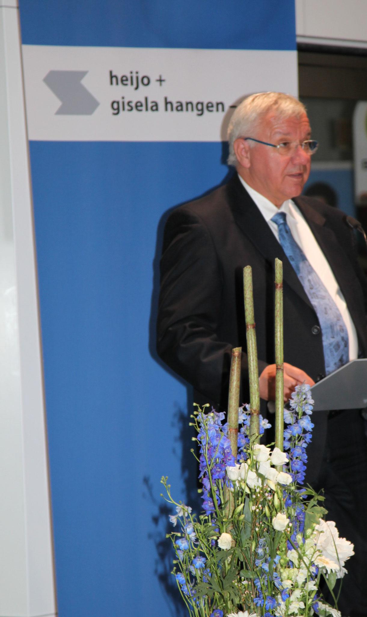 Prof. Dr. Joachim Hofmann-Göttig, Oberbürgermeister der Stadt Koblenz