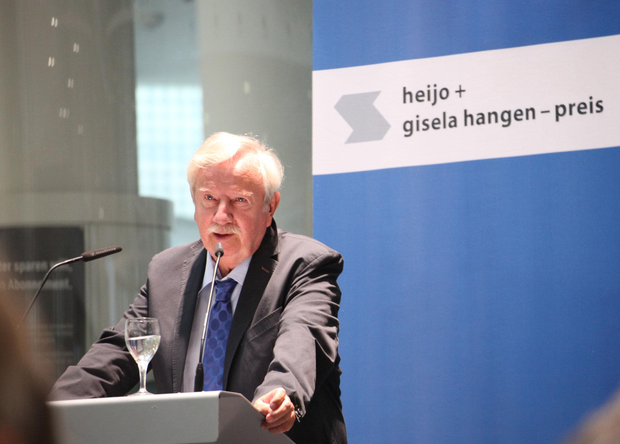 Hans-Peter Riese, Mitglied des Vorstandes der heijo + gisela hangen-stiftung