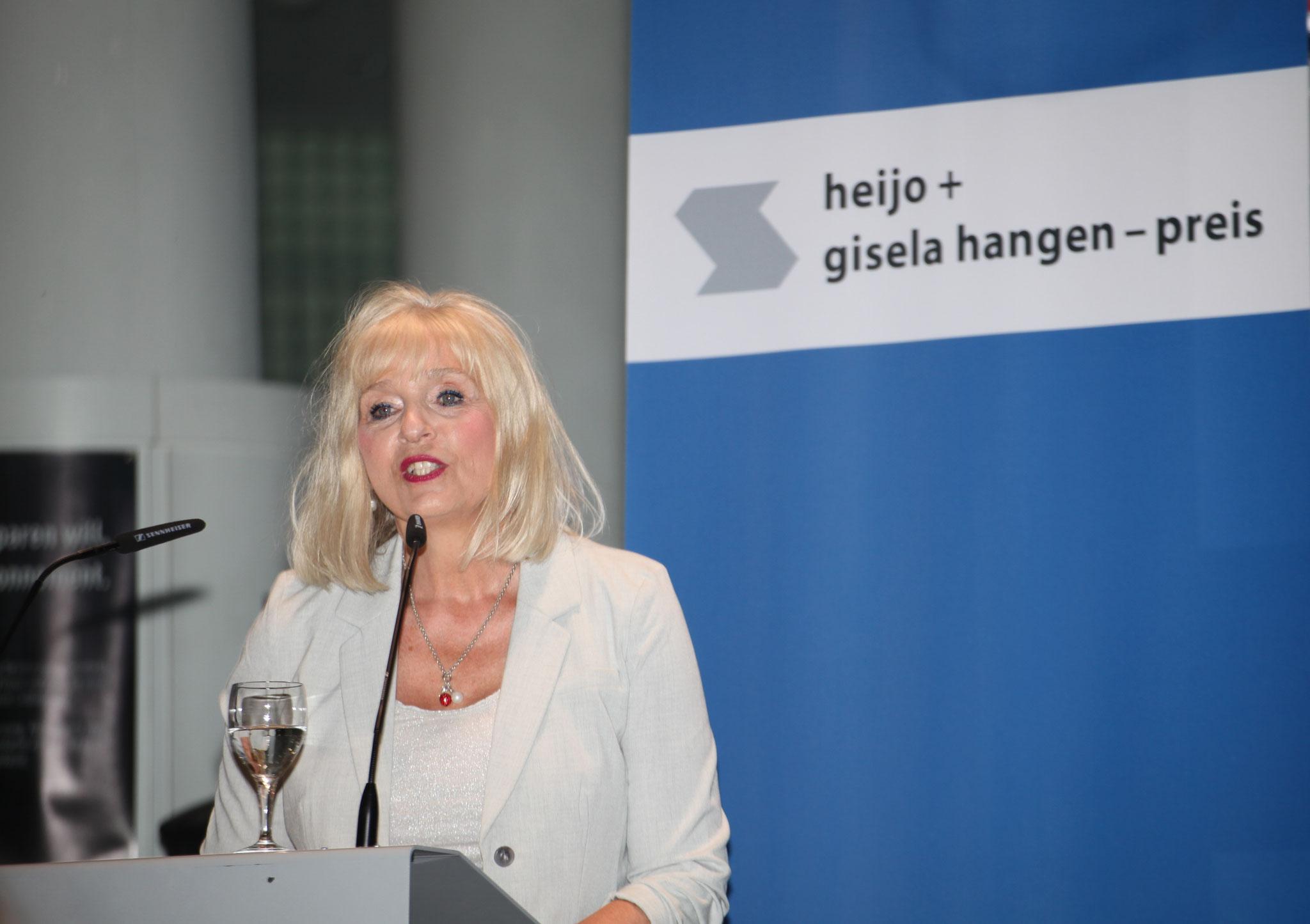 Dr. Margit Theis-Scholz, Kulturdezernentin der Stadt Koblenz