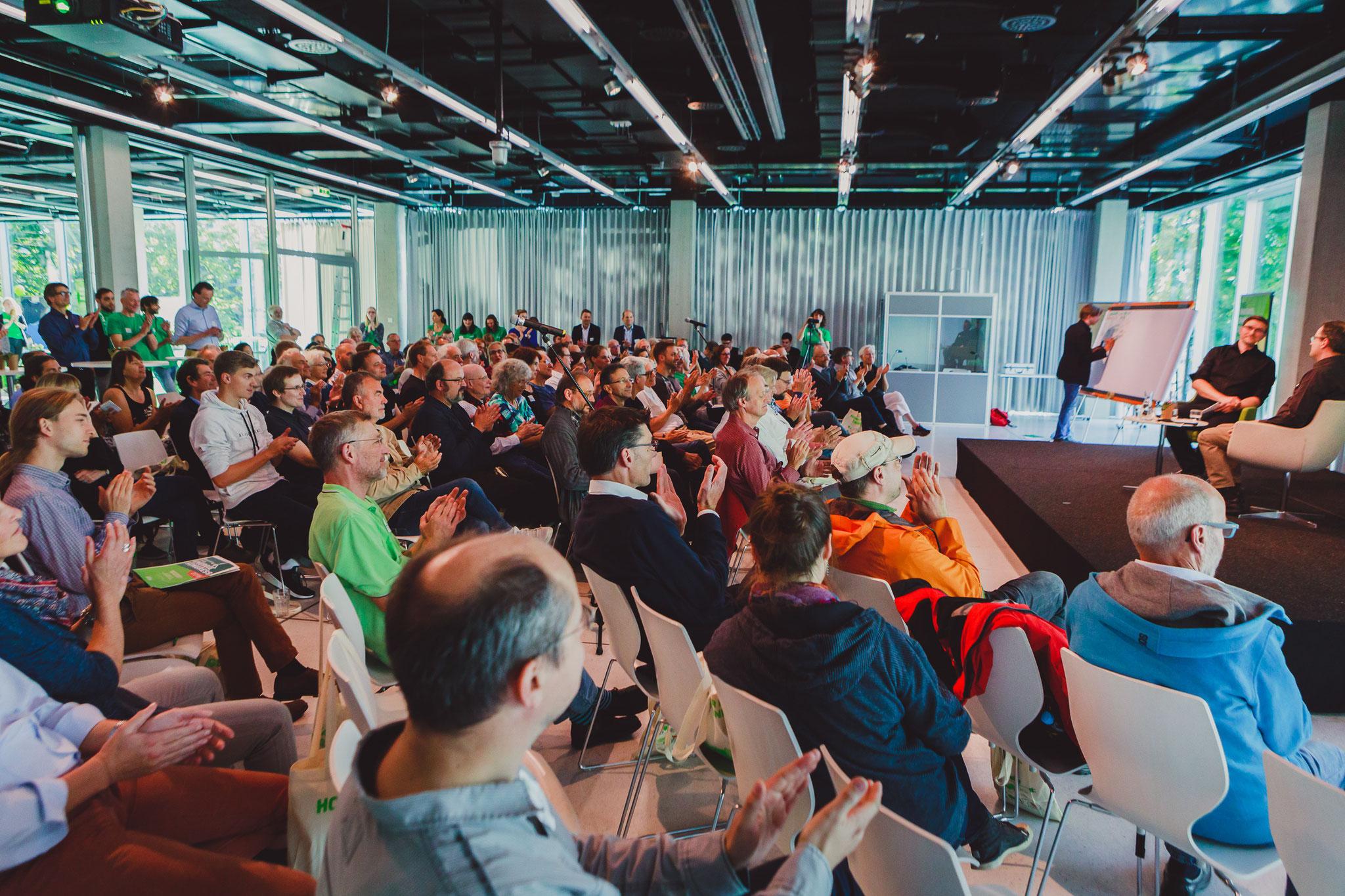 Auditorium Heinrich Böll Stiftung (Photo Christine Lutz)