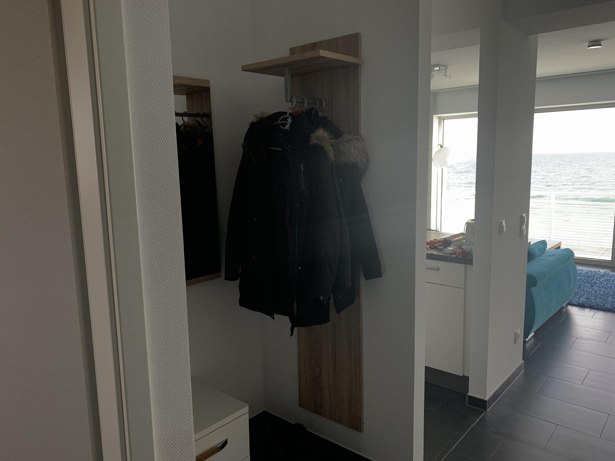 Platz für dicke Jacken