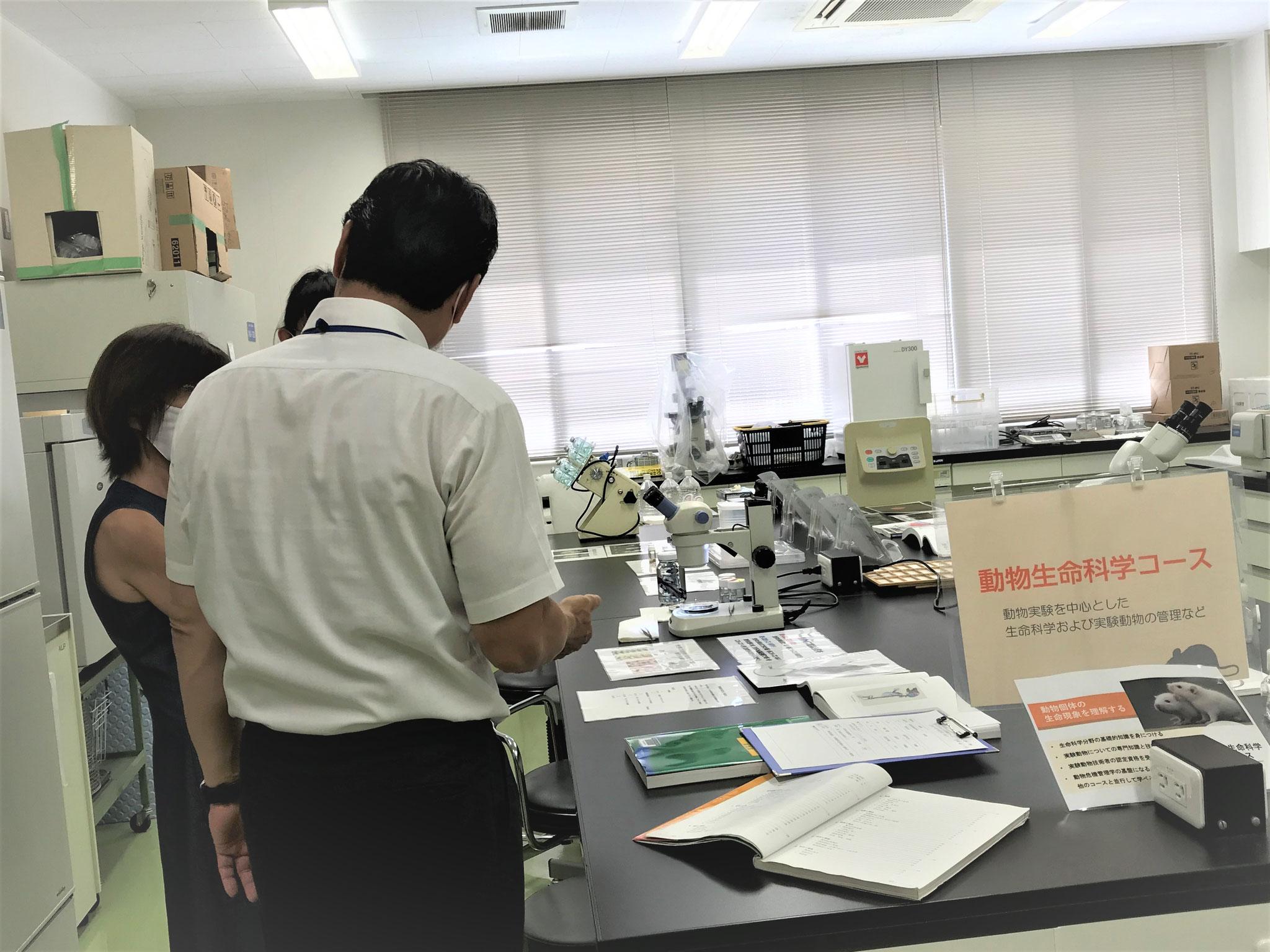 【来場型】動物生命科学コースの紹介