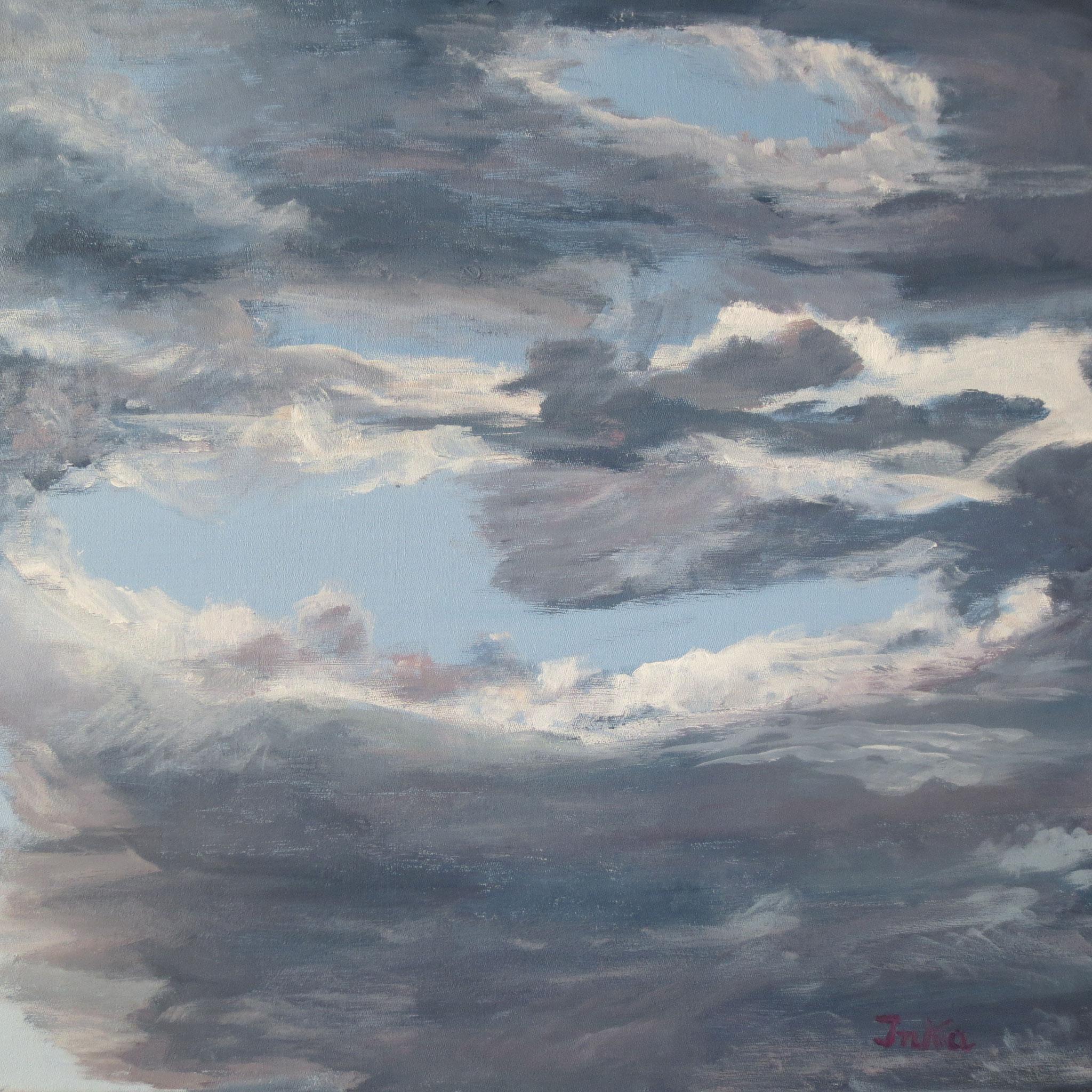 nach dem Regen (50 x 50)
