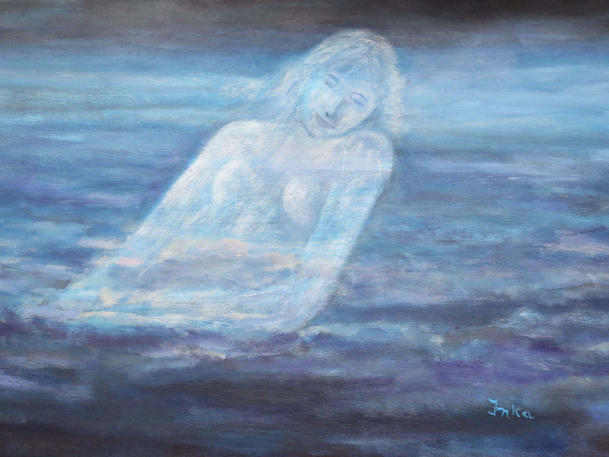 Meerjungfrau (80 x 60)