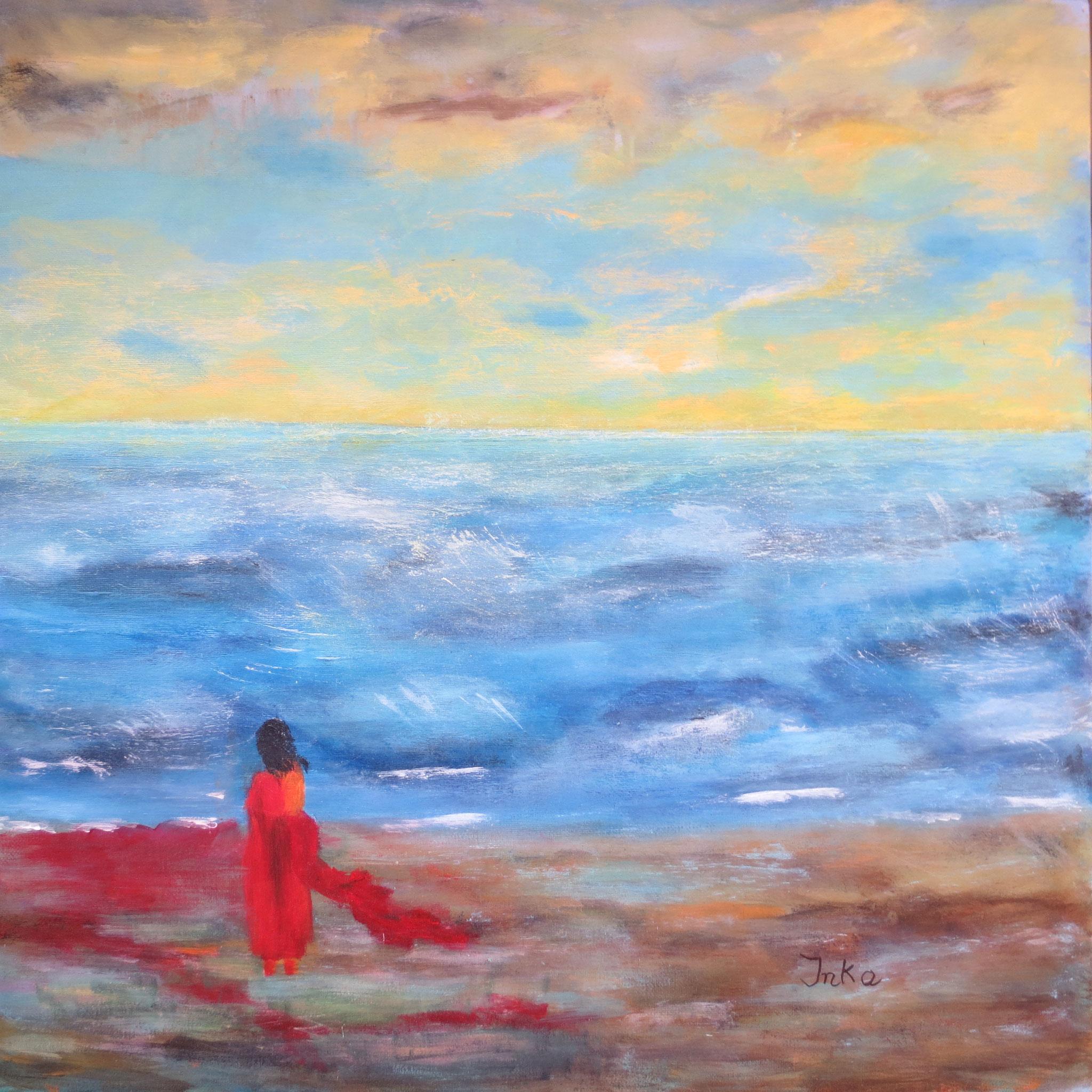 Strandträumerei (50 x 50)
